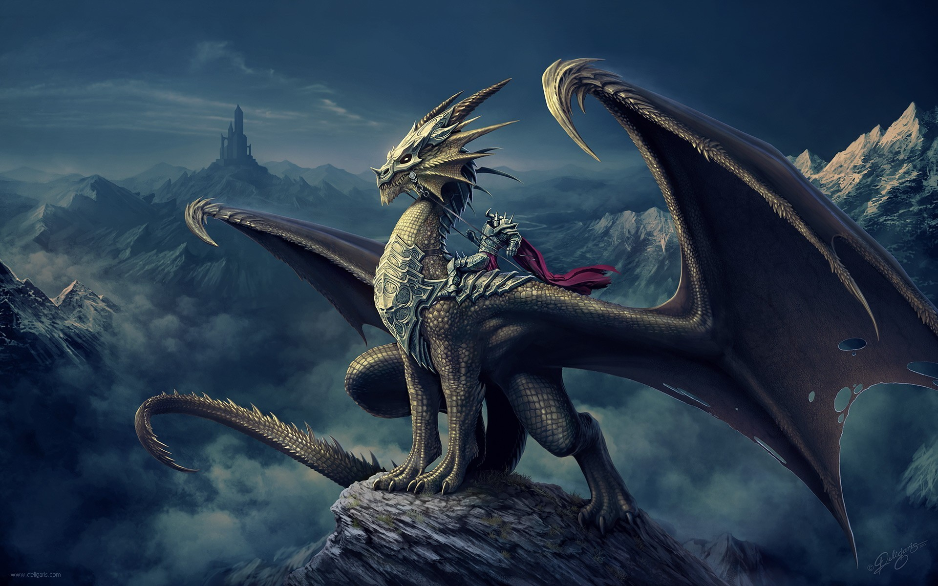 Res: 1920x1200, Dragon Wallpapers ...