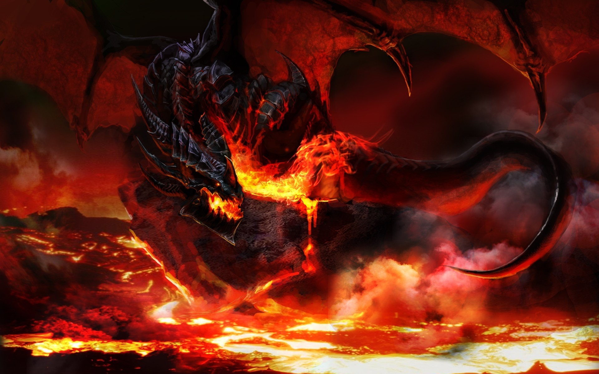 Res: 1920x1200, Fire Dragon wallpapers phone