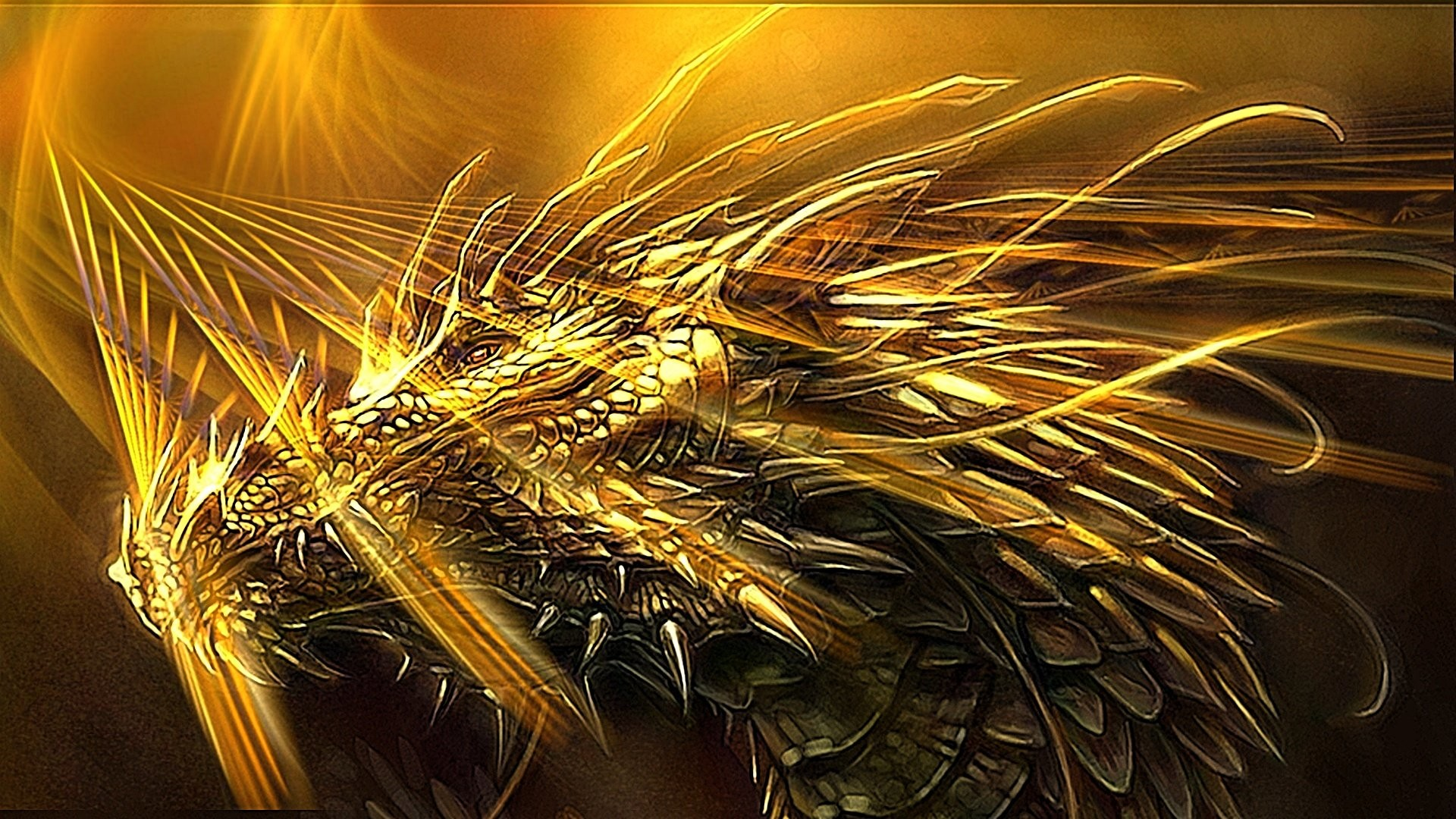 Res: 1920x1080, golden dragon 566070