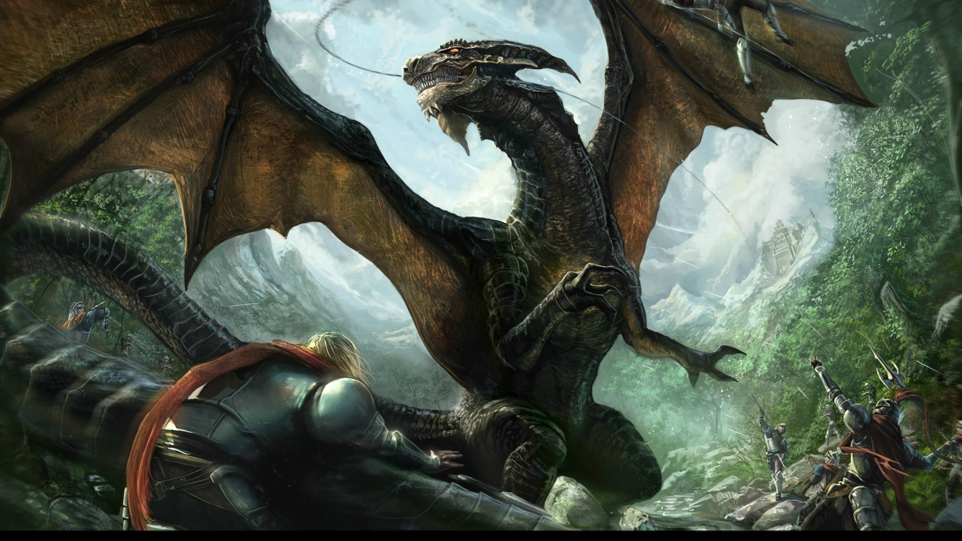 Res: 1920x1080, 6. cool-dragon-wallpapers-HD6-600x338