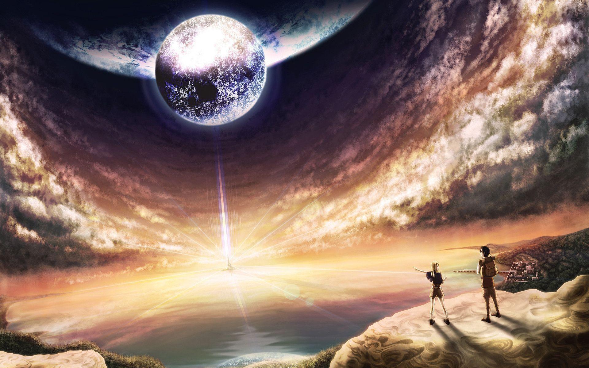 Res: 1920x1200, Fantasy World, Anime widescreen wallpaper | Wide-
