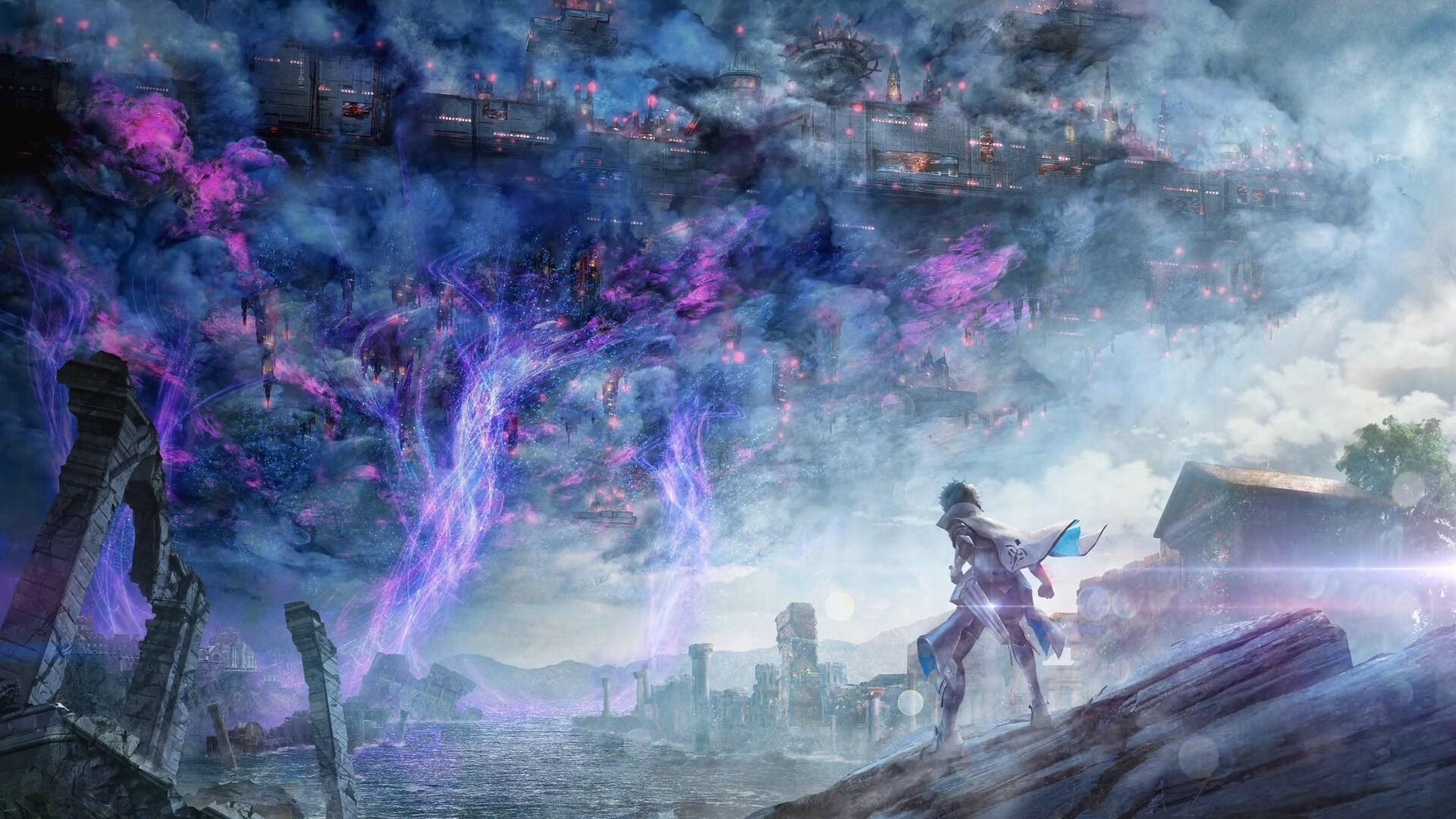 Res: 1920x1080, Fate Extella, Link, Magic, Fantasy, Anime Boy, Sword, Back View