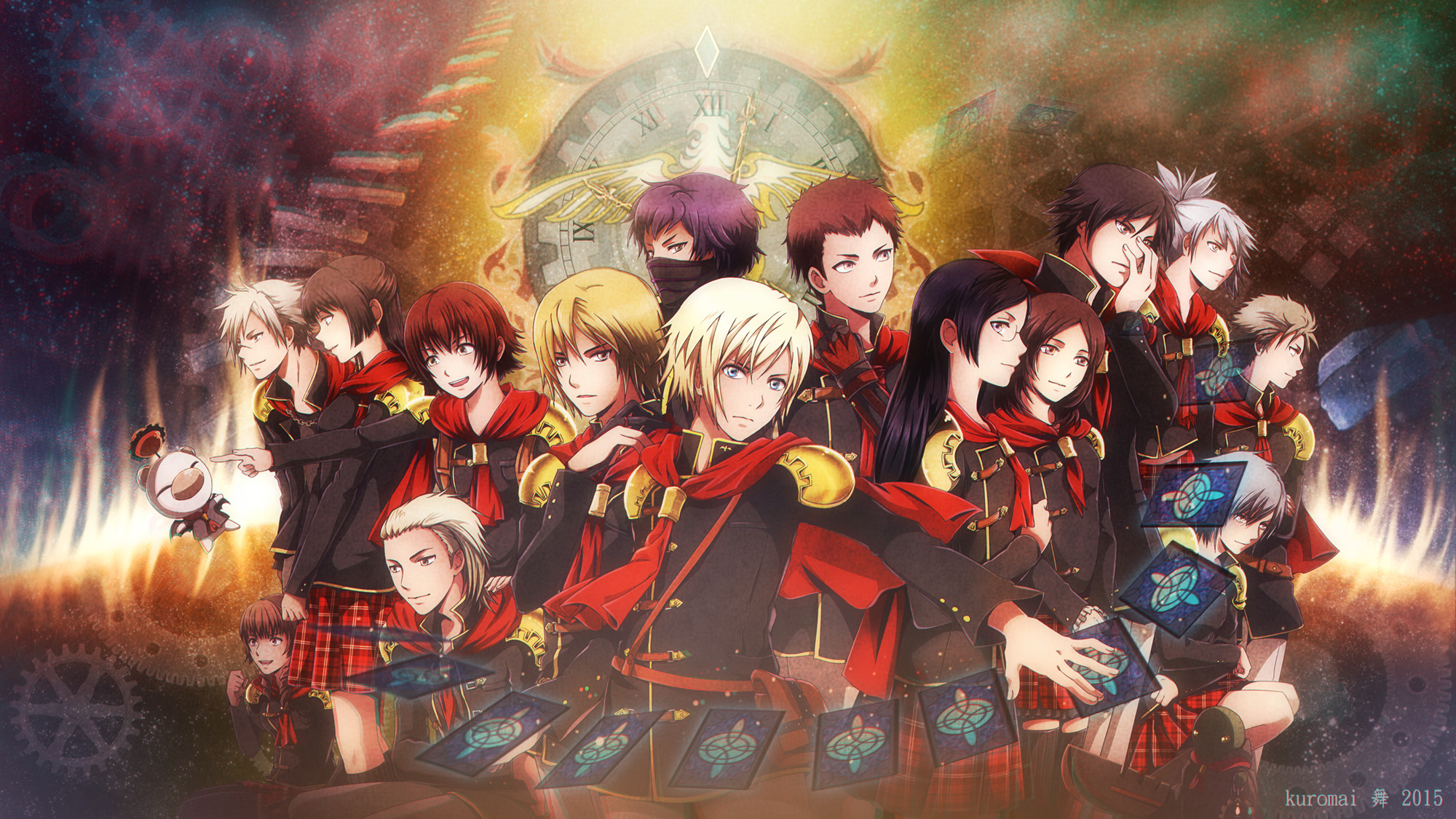 Res: 2000x1125, Tags: Anime, KuroMai, Final Fantasy Type-0, King (Final Fantasy