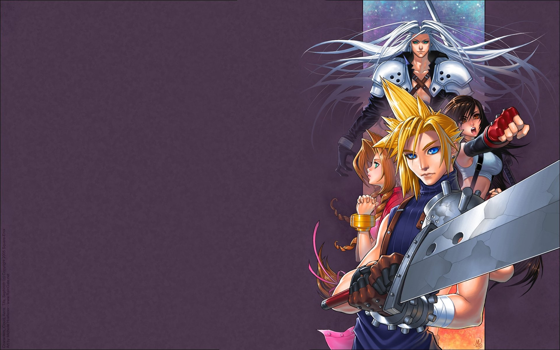 Res: 1920x1200, final fantasy animated wallpaper final fantasy cloud images sephiroth page2  aeris wallpaper anime