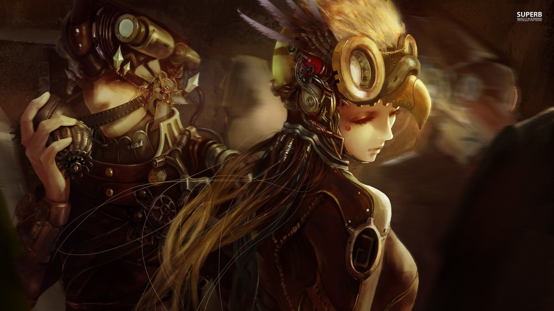 Res: 1920x1080, Steampunk Anime Wallpapers Group (56+)