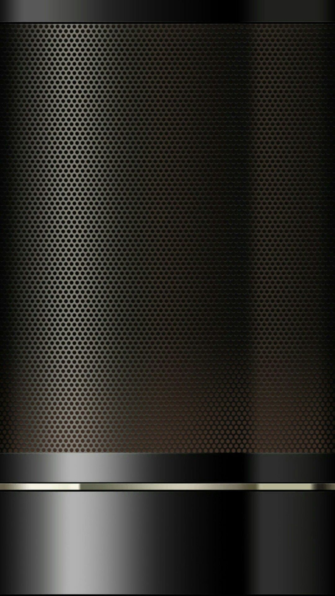 Res: 1080x1920, Black Beadboard and Chrome Wallpaper