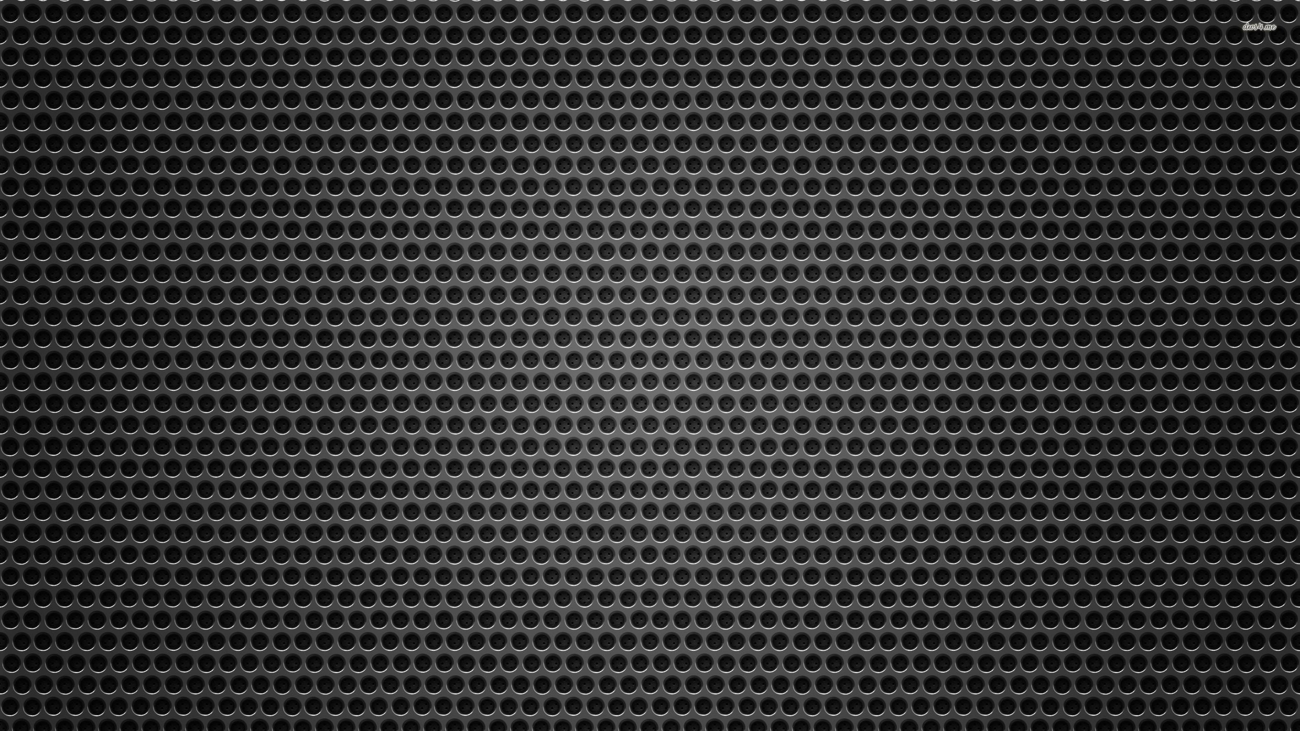 Res: 2560x1440, Metallic circles with black dots inside wallpaper - Abstract .