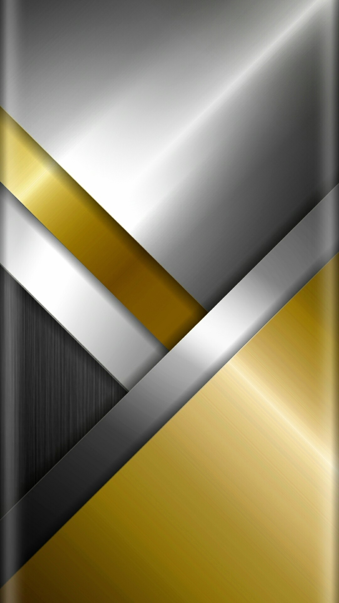 Res: 1080x1920, Chrome Wallpaper Metal Beautiful Chrome and Gold Abstract Wallpaper