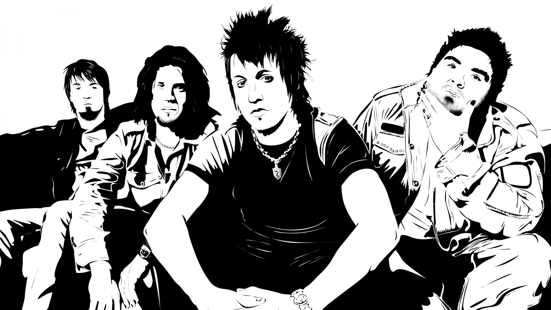 Res: 1920x1080, Get the latest papa roach, members, band news, pictures and videos and  learn all about papa roach, members, band from wallpapers4u.org, your  wallpaper news ...