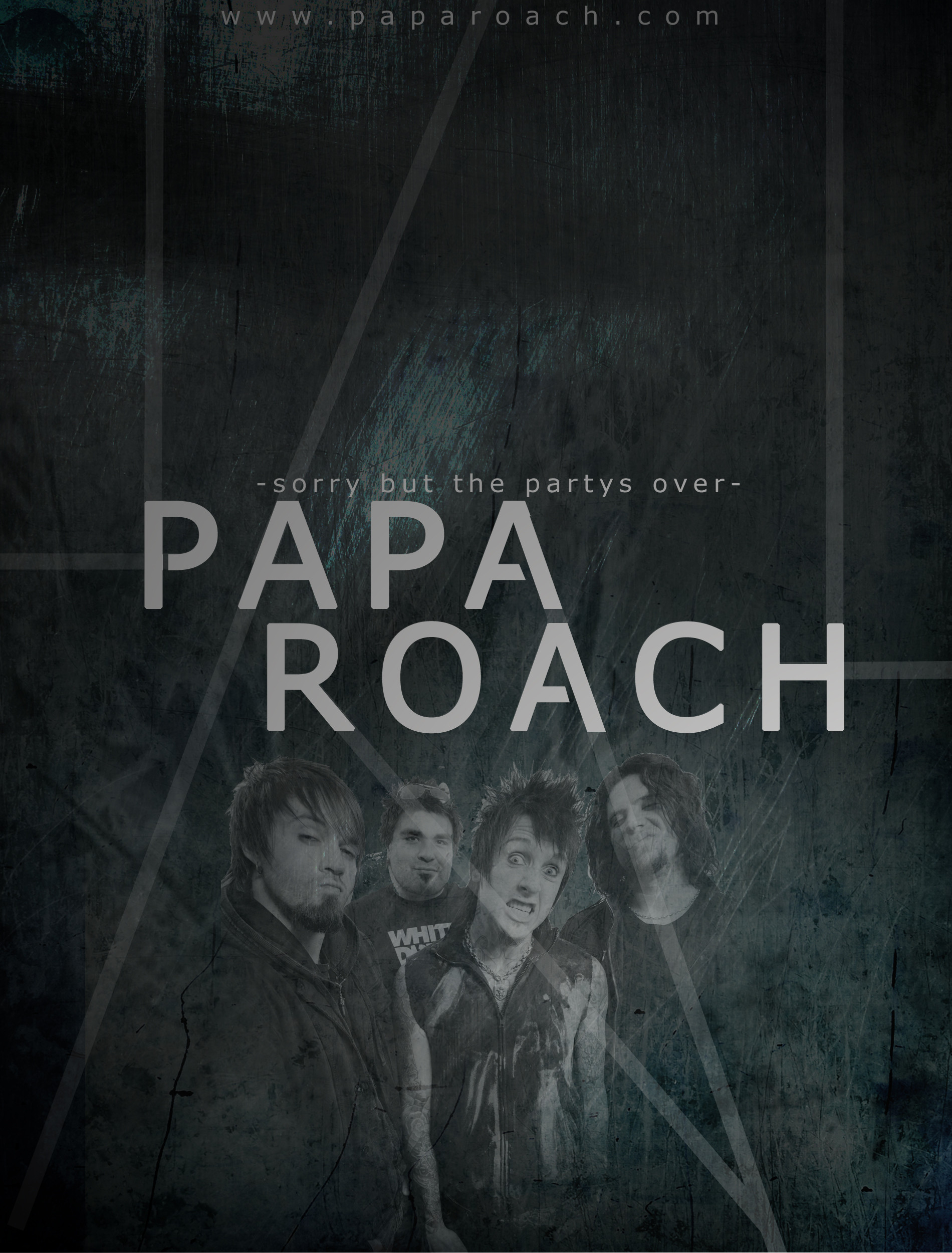 Res: 1900x2500, ... PAPA ROACH Poster by Fall-Out-Bro
