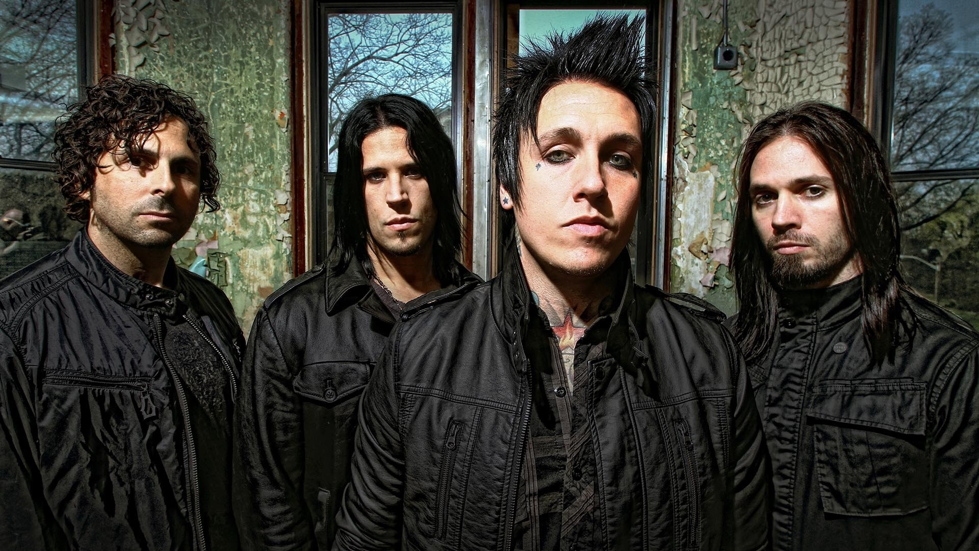 Res: 1920x1080,  Wallpaper papa roach, band, graphics, windows, iroquois
