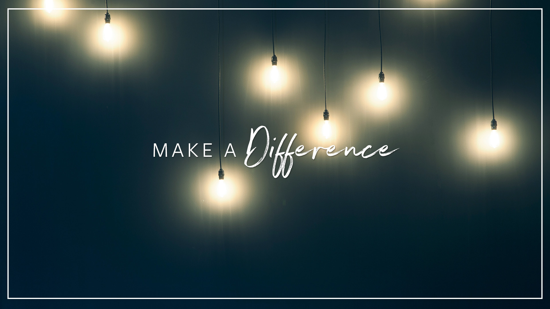 Res: 1920x1080, Make A Difference by Cody Abercrombie