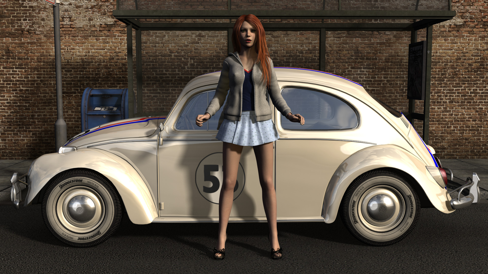Res: 1920x1080, Maggie and Herbie by timnaas Maggie and Herbie by timnaas