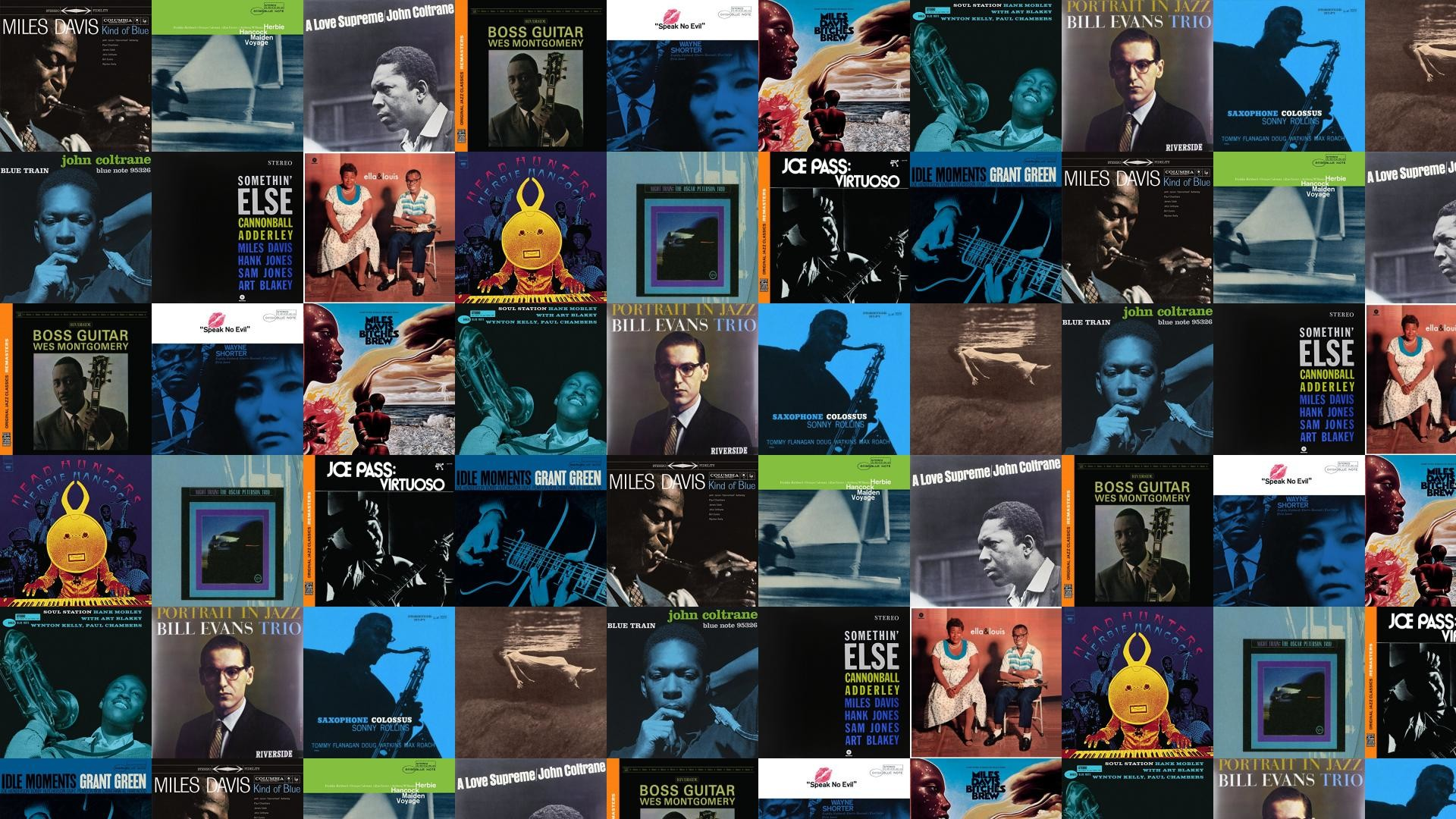 Res: 1920x1080, Miles Davis Herbie Hancock John Coltrane Wallpaper Â« Tiled Desktop Wallpaper