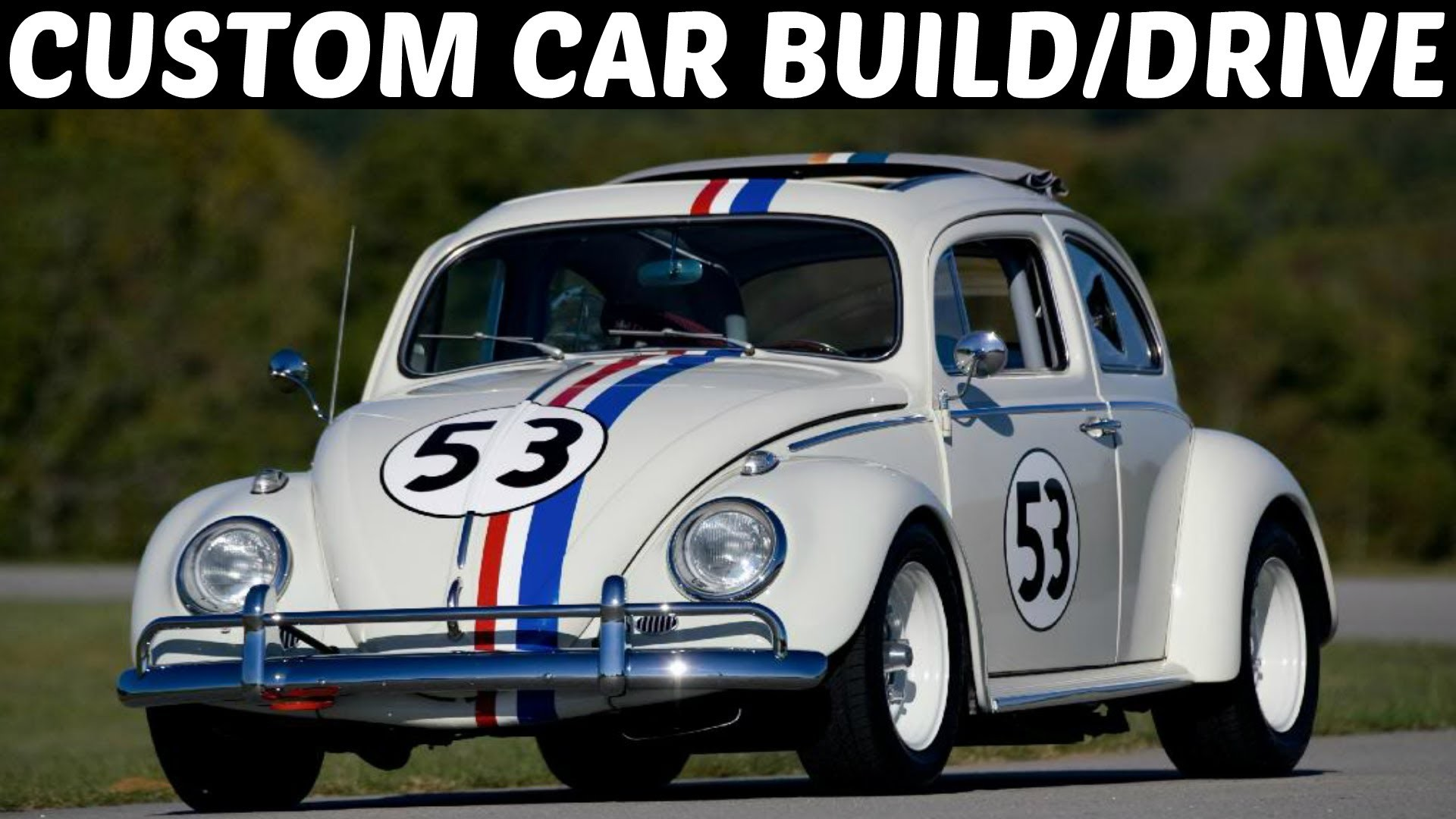 Res: 1920x1080, Forza 5 Custom Car Build/Drive - #4 V8 VW BEETLE (Herbie Goes Bannanas)  !!!! - YouTube