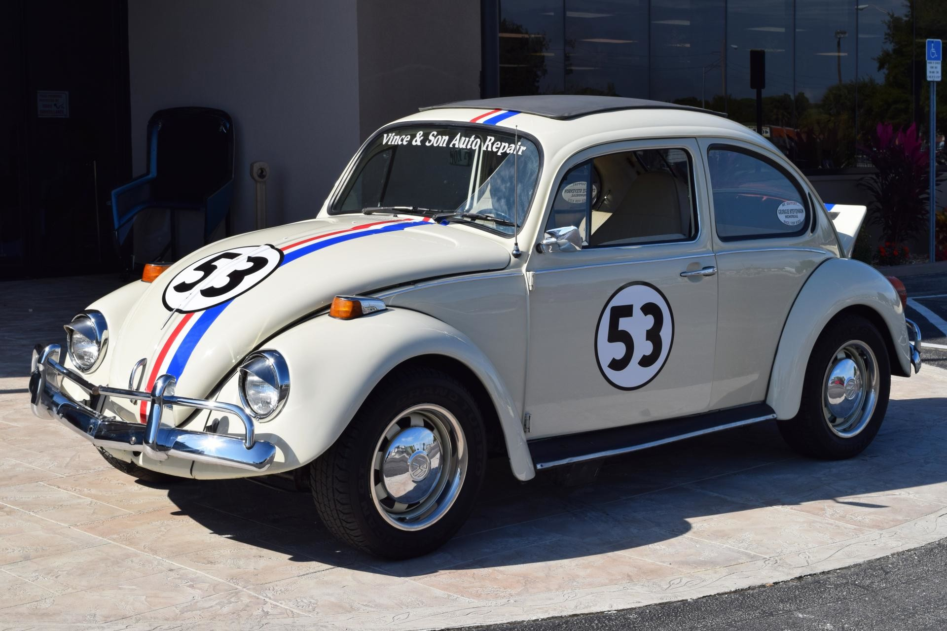 Res: 1920x1280, Used 1973 Z Movie CAR Herbie 1 Beetle Moving Parts | Venice, FL