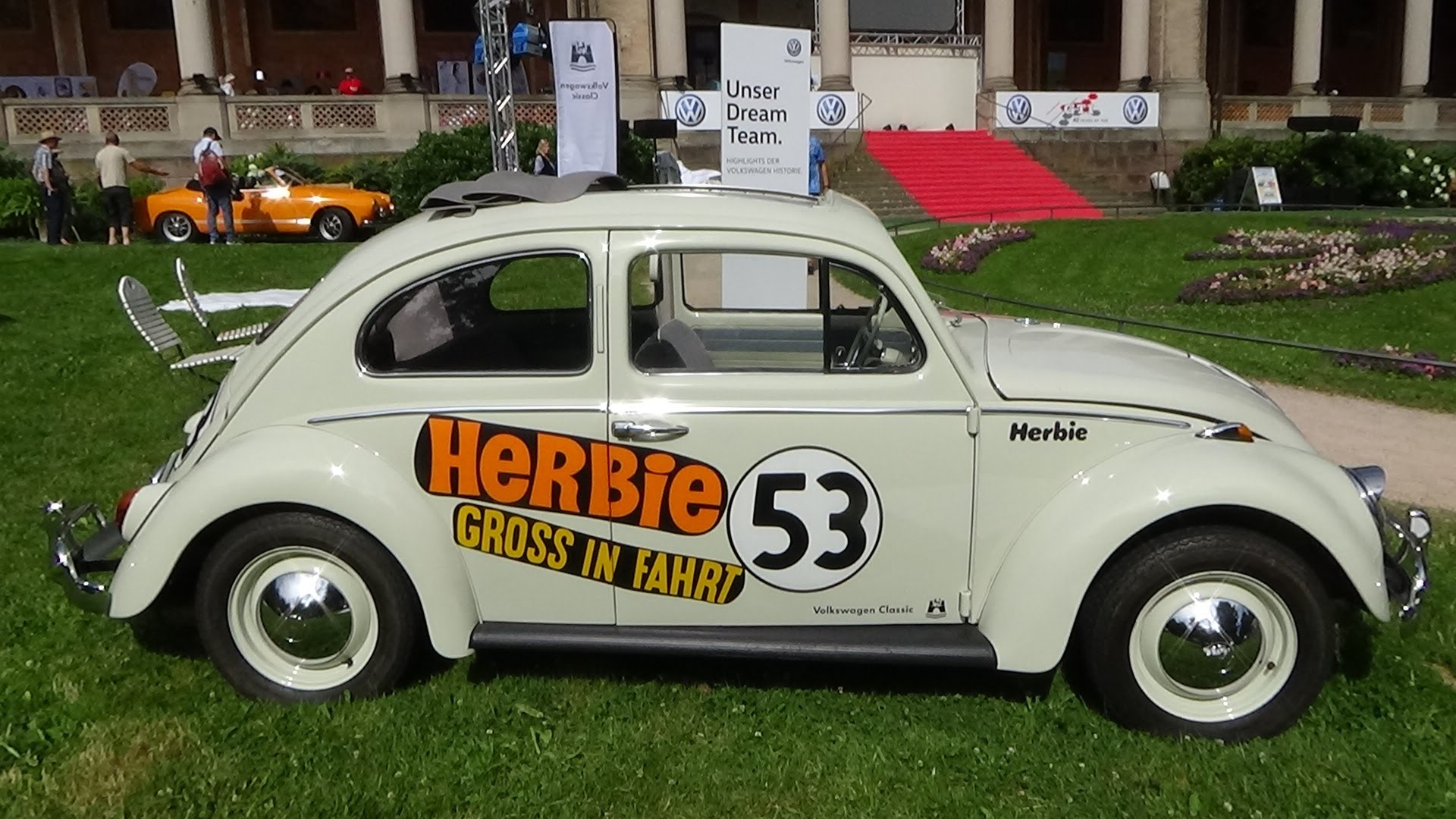 Res: 1920x1080, 1960 Volkswagen 1200 Herbie - Exterior and Interior - Oldtimer-Meeting  Baden-Baden 2016