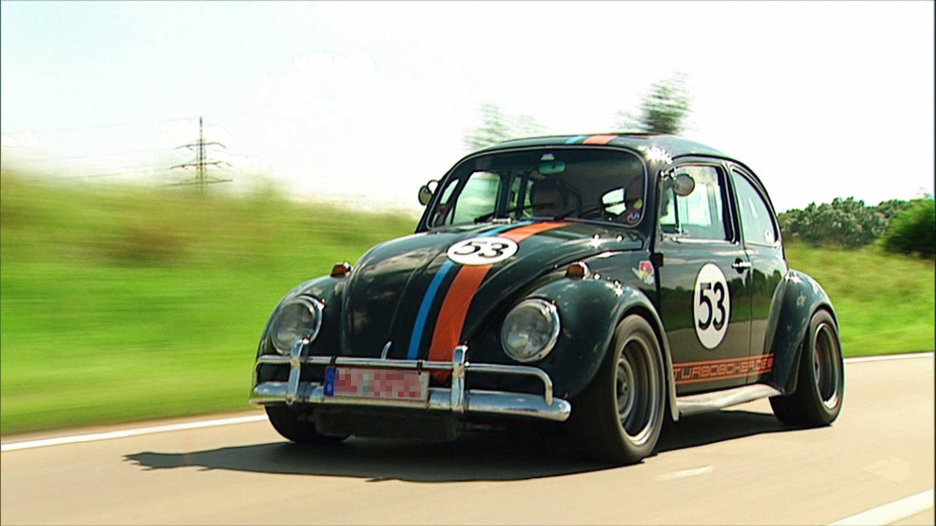 Res: 1920x1080, VW Käfer Herbie vs. De Tomaso Pantera (Folge 10) - GRIP EXTREM - RTL 2    www.rtl2.de