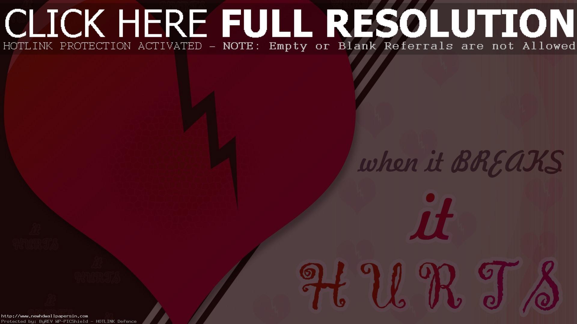 Res: 1920x1080, Heart Broken Wallpapers Free Download