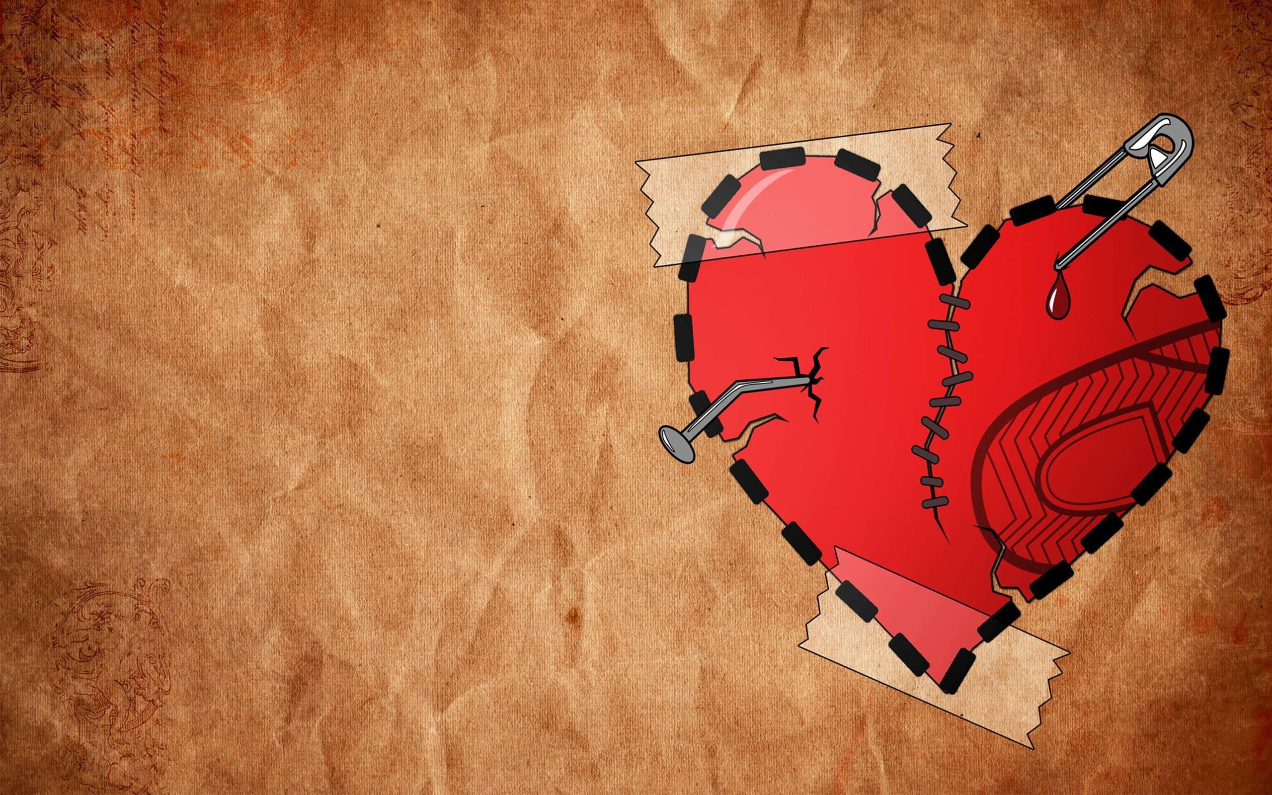 Res: 2560x1600, Broken Heart Wallpaper For Iphone #7010 Wallpaper | awshdwallpapers.