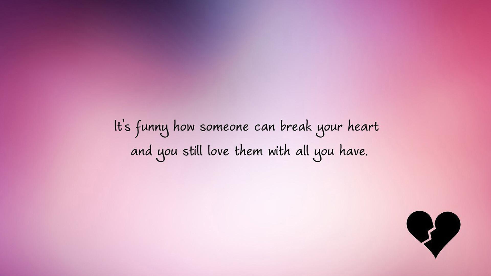Res: 1920x1080, Love quotes heartbroken english