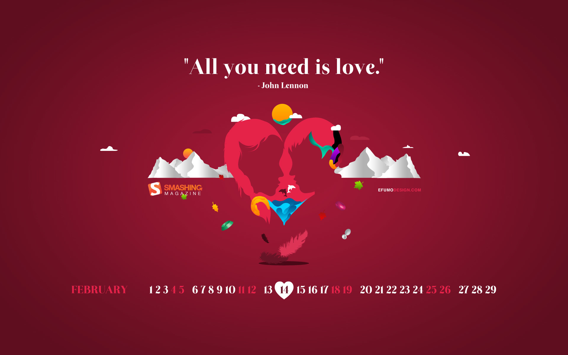 """Res: 1920x1200, All You Need Is Love. """""""