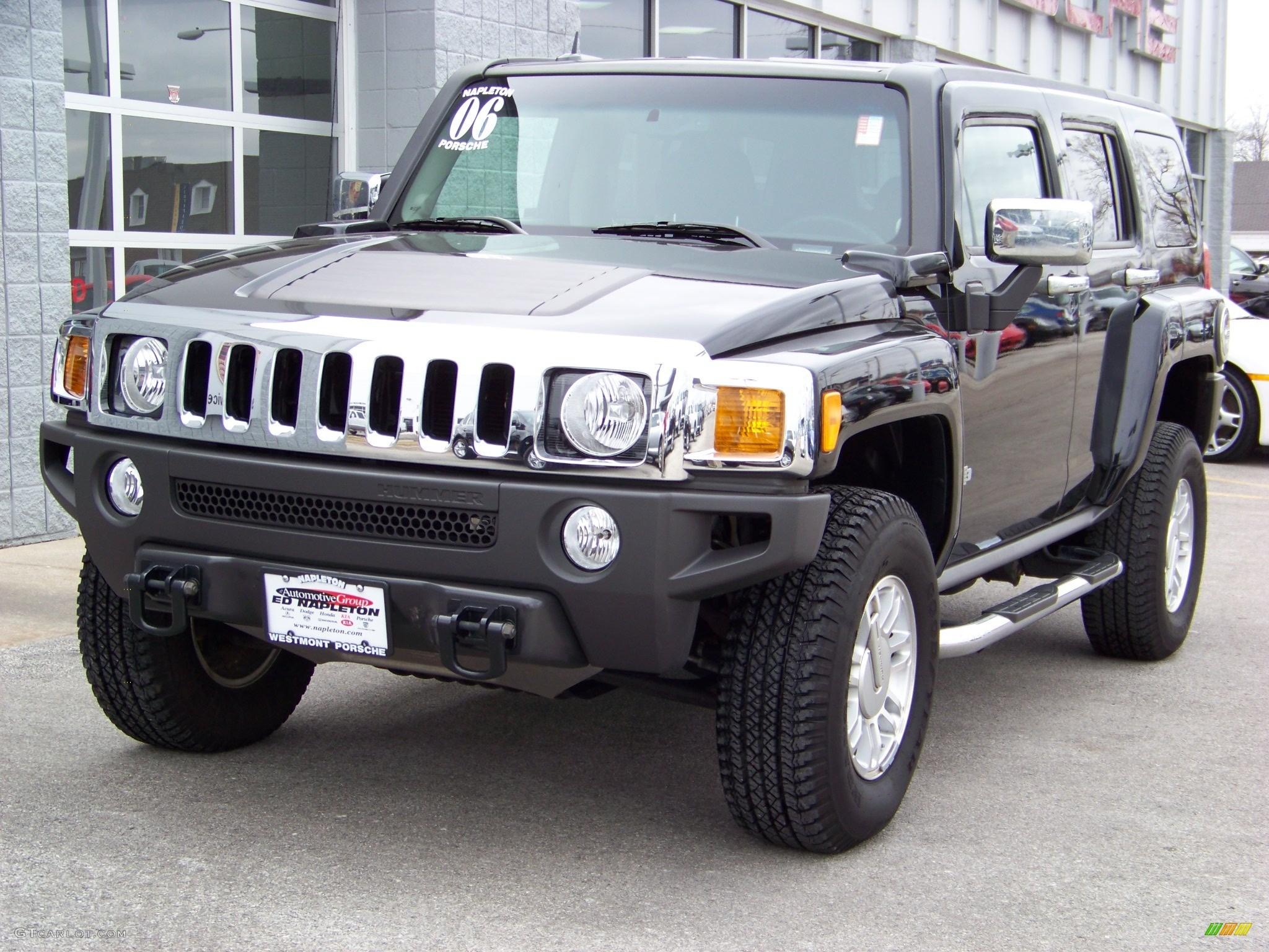 Res: 2048x1536, ... Hummer H3 Black #128