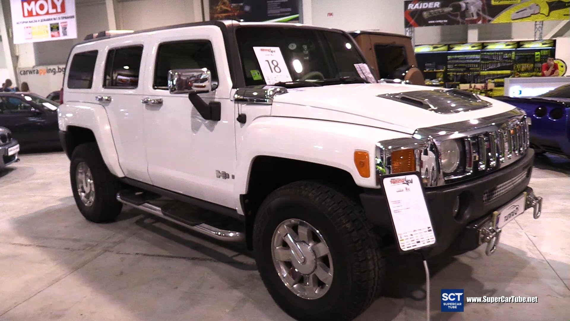 Res: 1920x1080, 2005 Hummer H3 First Generation - Exterior and Interior Walkaround - Tuning  Show 2016 Sofia - YouTube