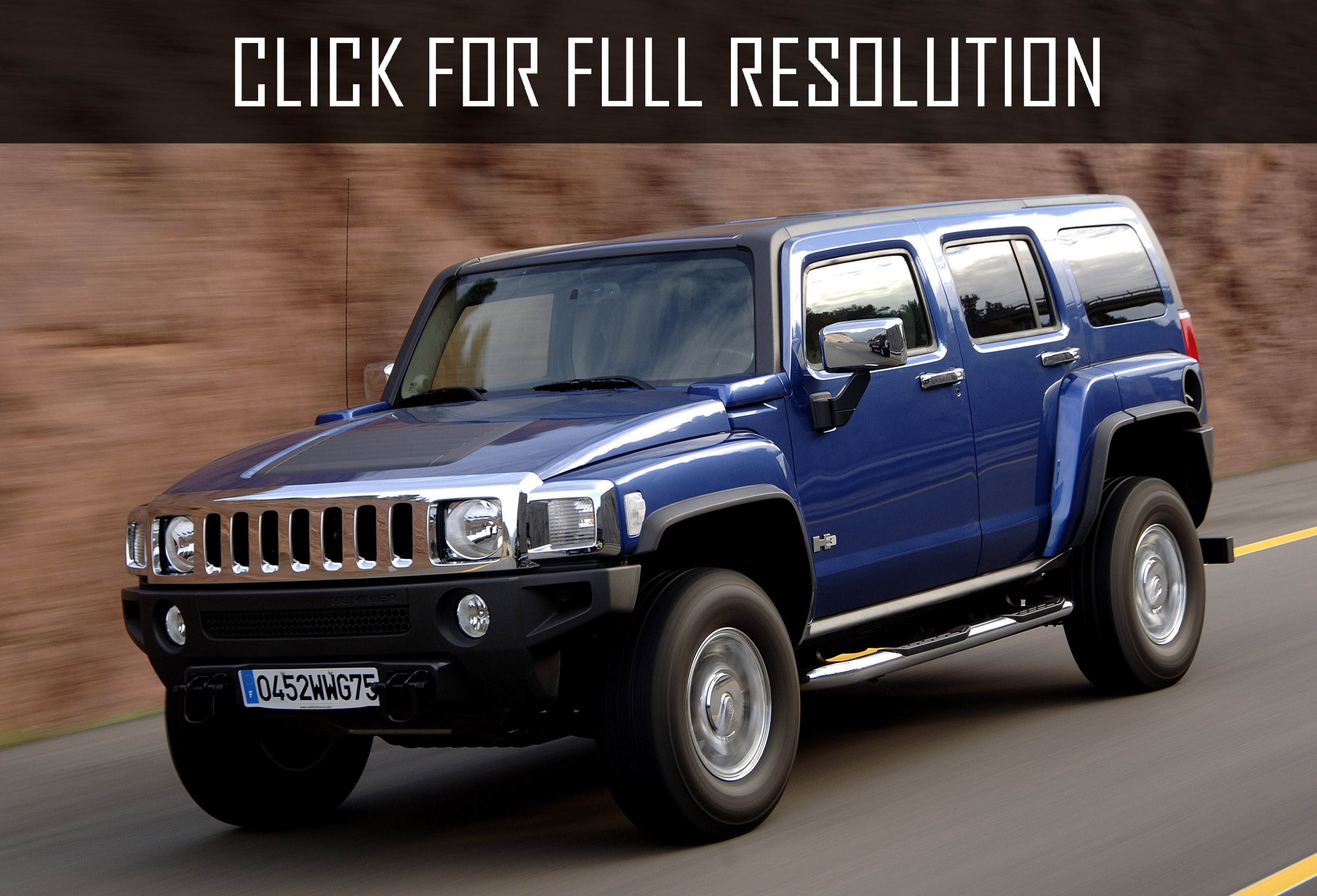Res: 3000x2042, 2011 Hummer H3