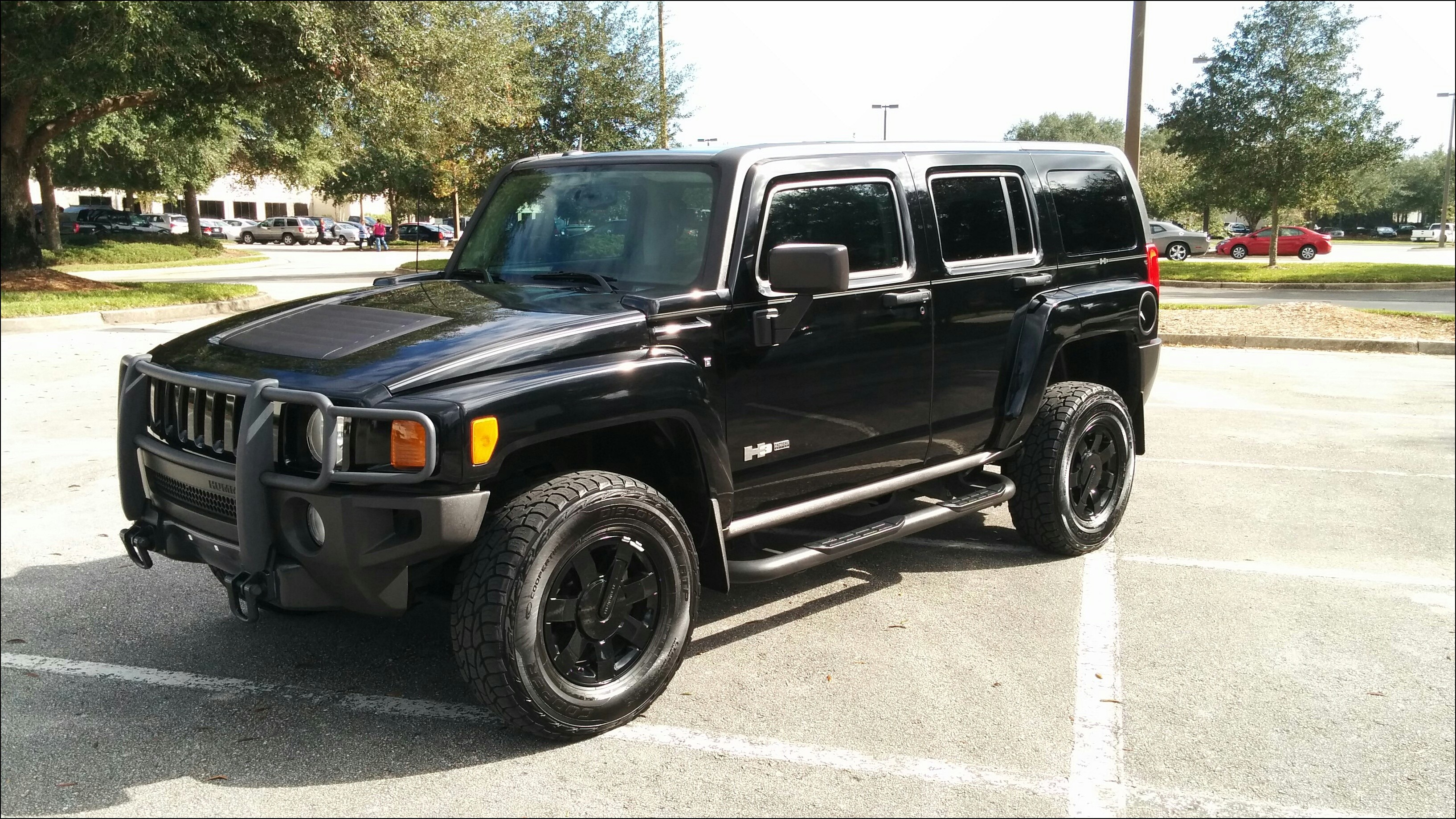 Res: 3268x1840, Black Hummer H3 Tactical Edition For Sale
