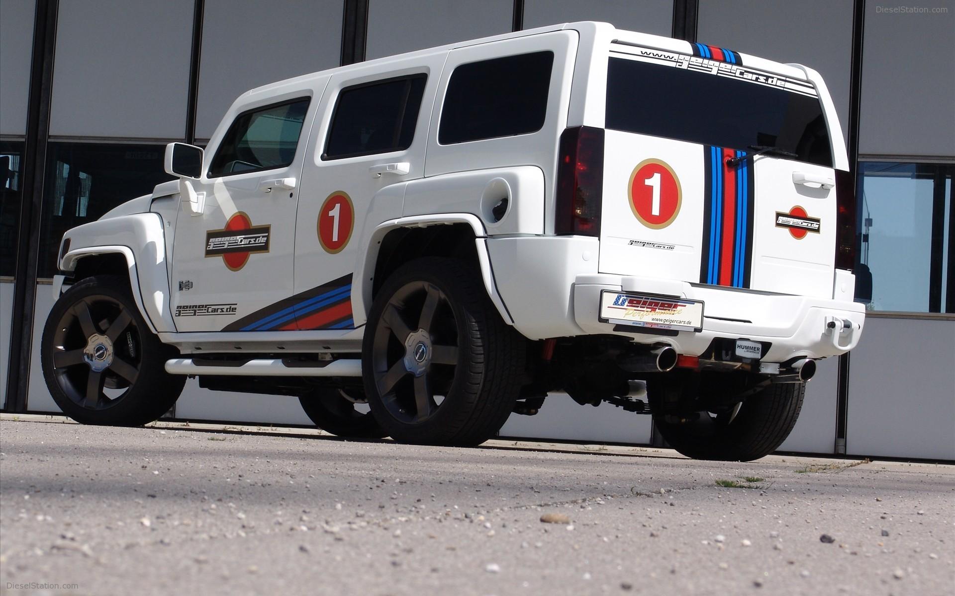 Res: 1920x1200, 2009 Geigercars HUMMER H3 V8 KOMPRESSOR