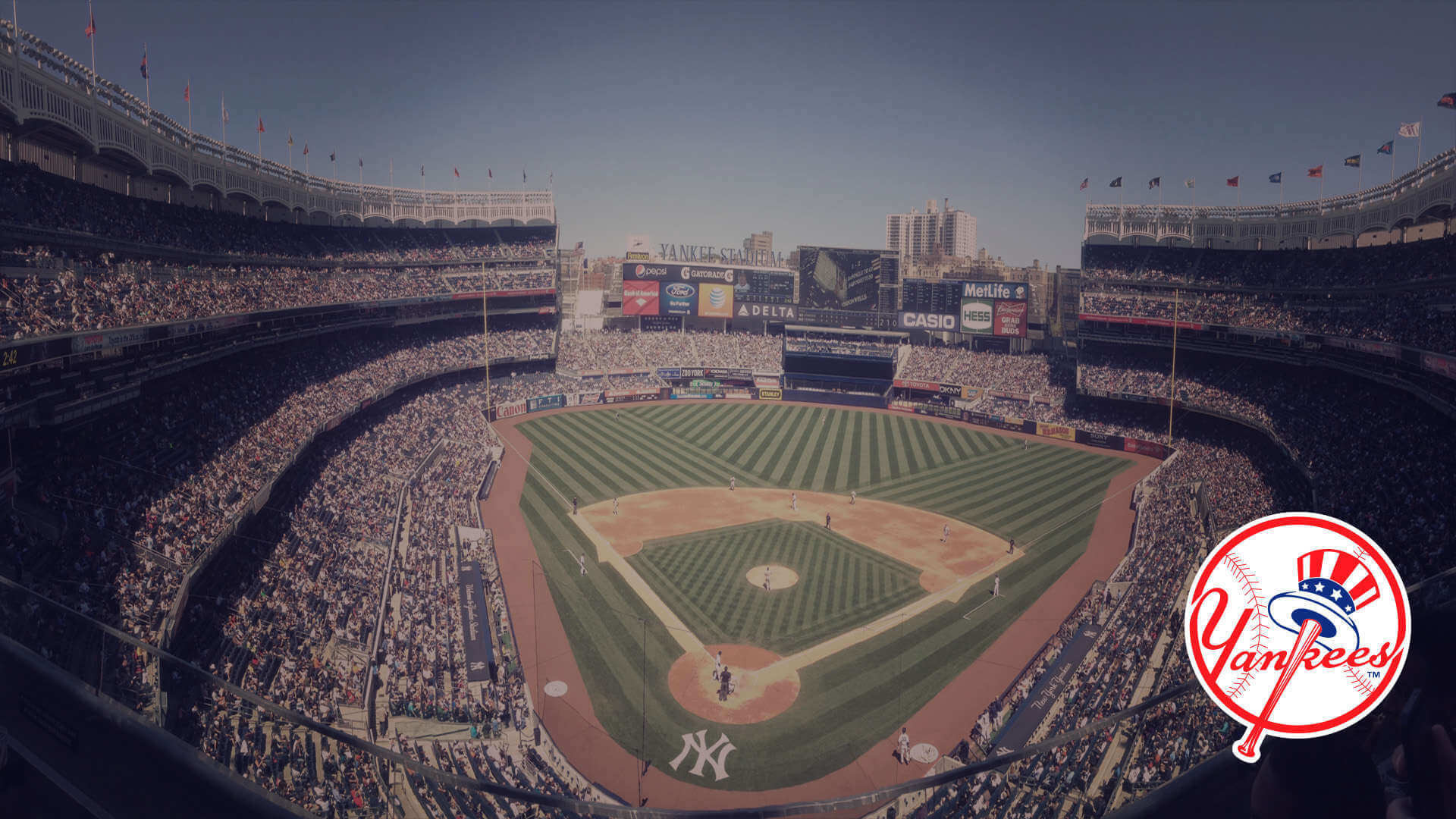 Res: 1920x1080, New York Yankees Wallpapers for iPad