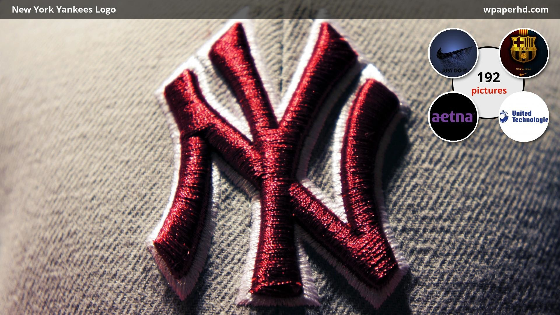 Res: 1920x1080, New York Yankees Logo Wallpaper
