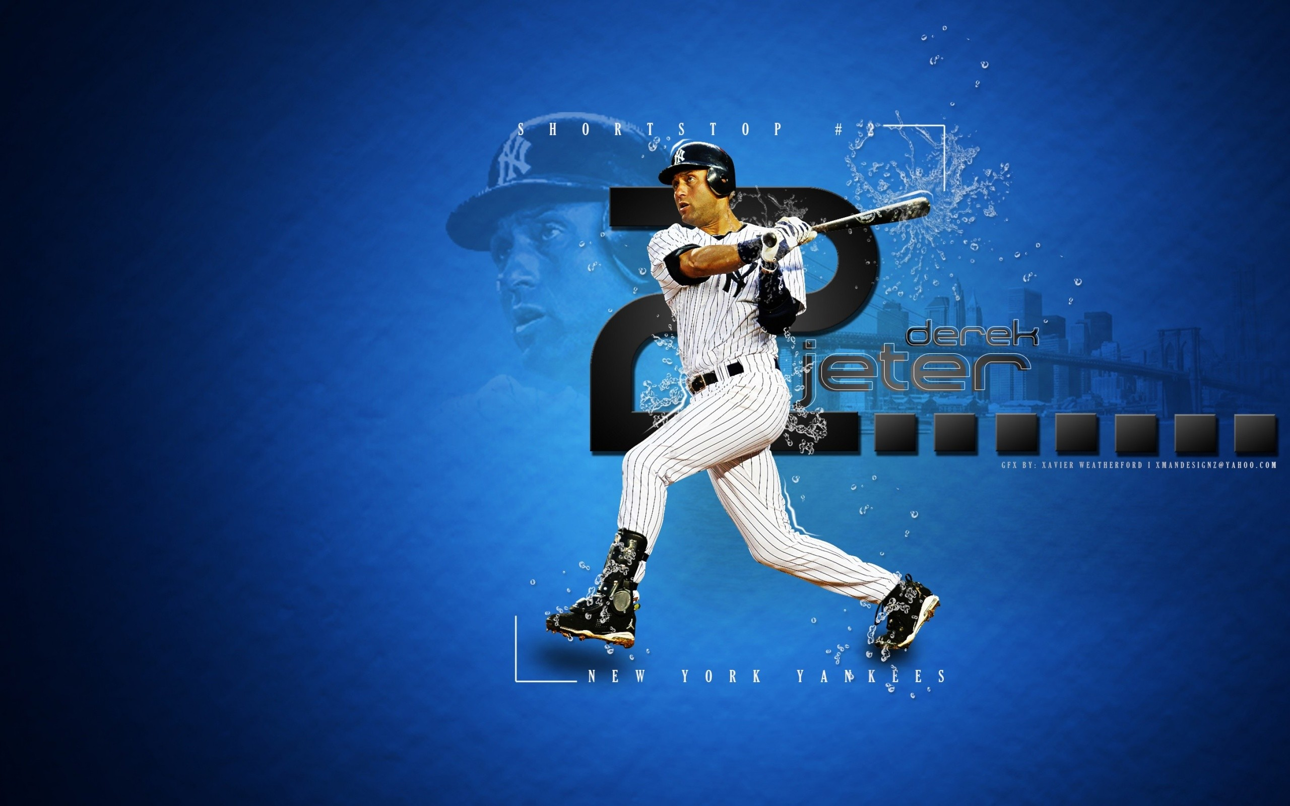 Res: 2560x1600, Baseball, Ny Yankees, New York Yankees, Derek Jeter, Mlb, Baseball Player