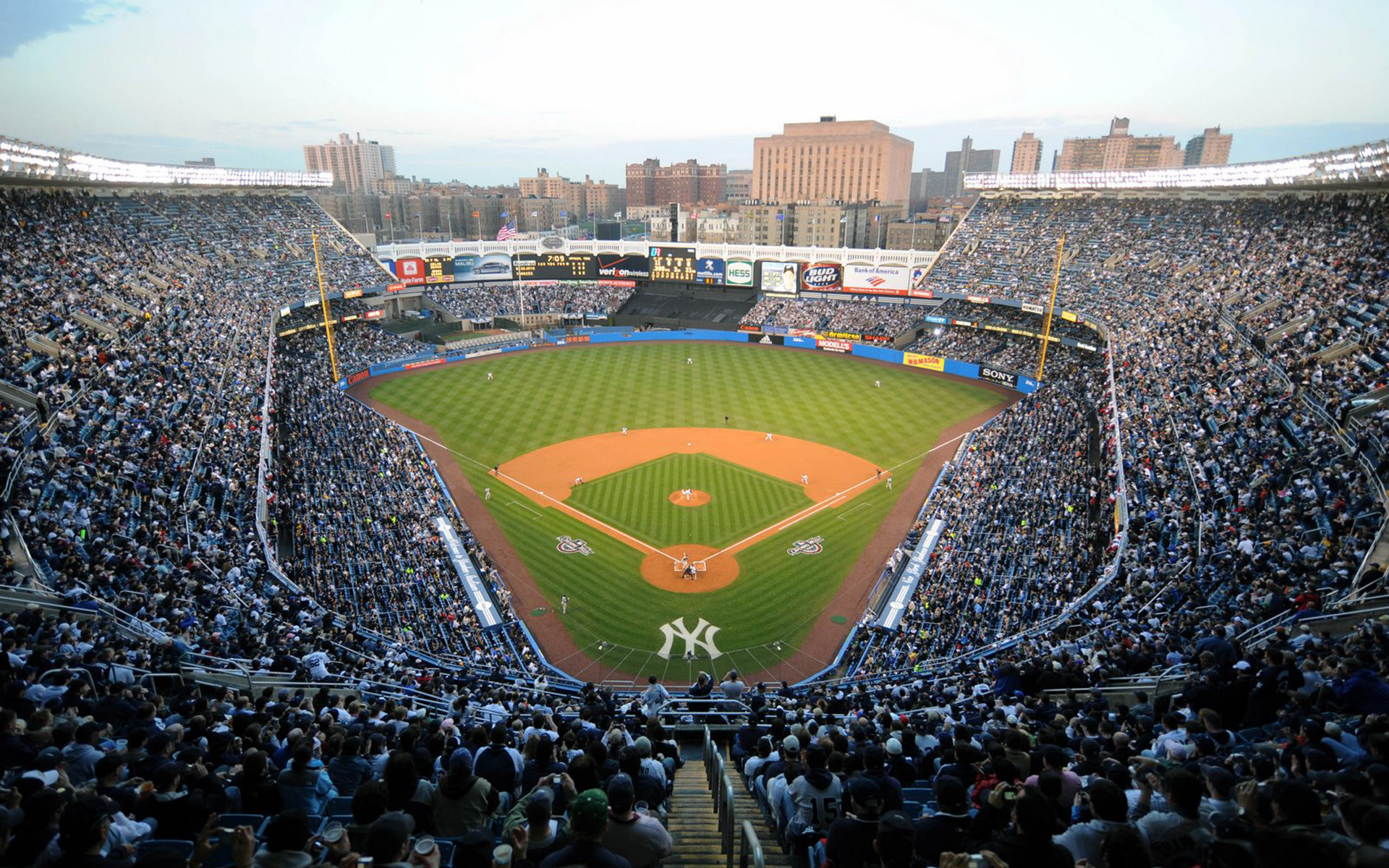 Res: 1920x1200, New York Yankees Stadium Wallpaper 50285