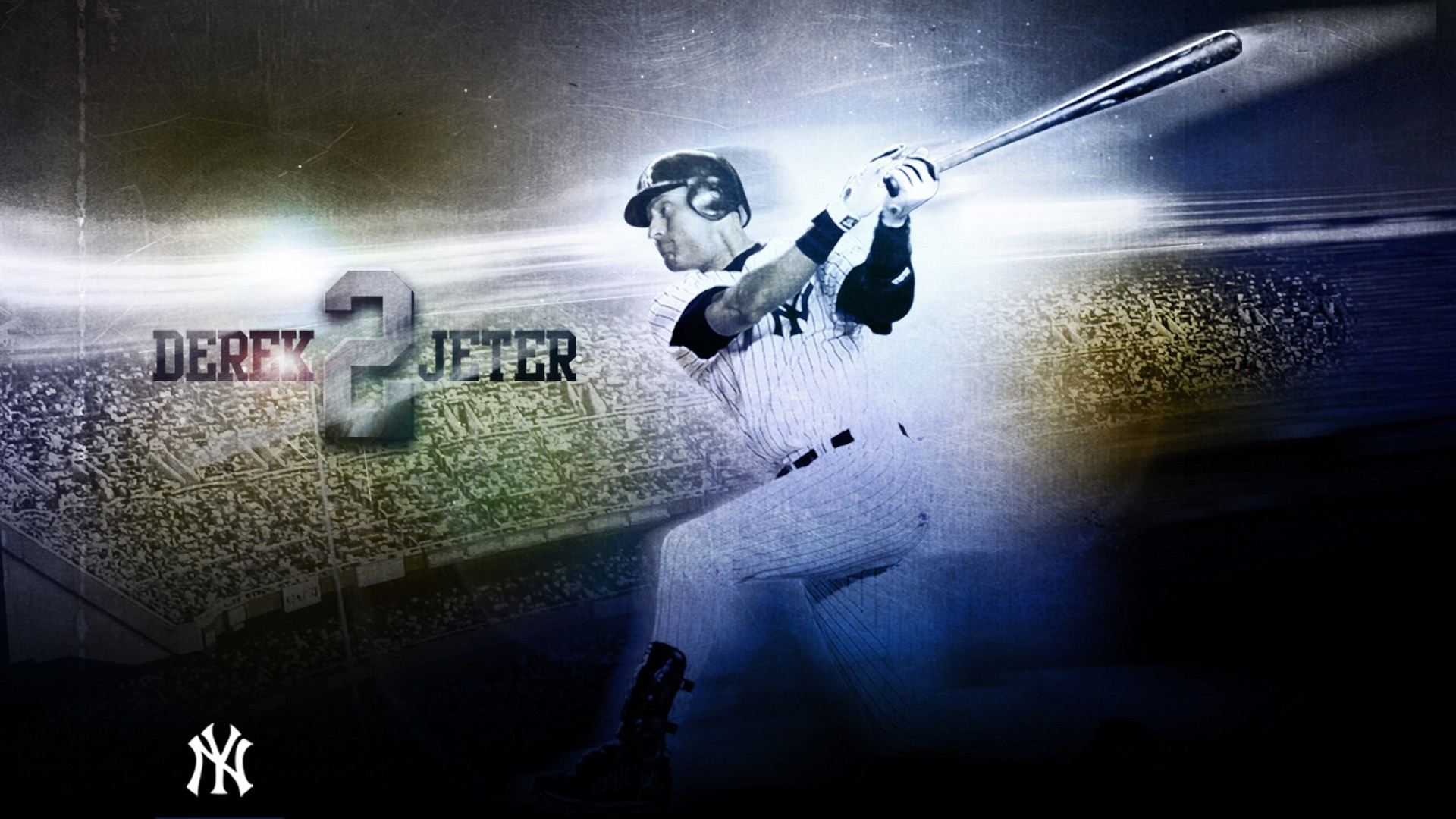 Res: 1920x1080, New York Yankees Derek Jeter 1080p HD Wallpaper Background