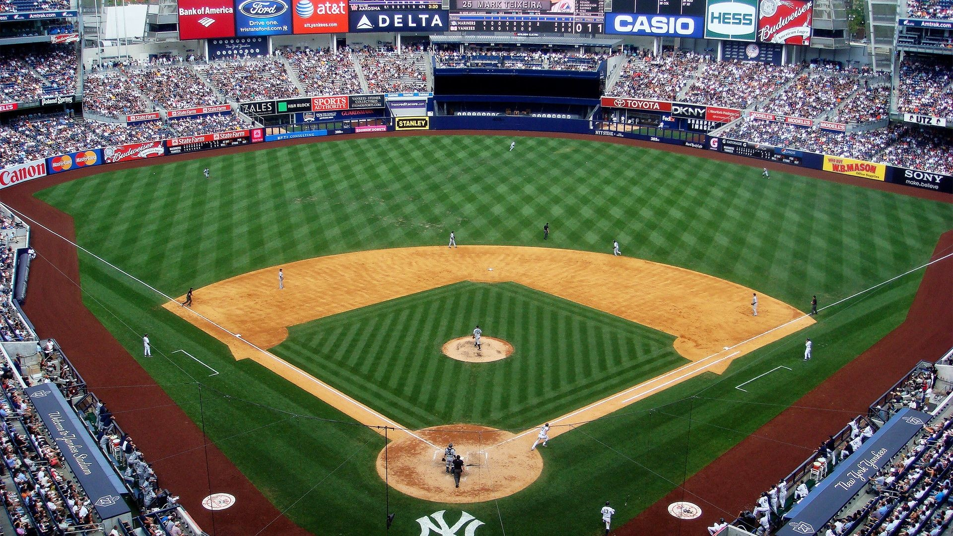 Res: 1920x1080,  baseball, ny yankees, stadium, mlb, new york yankees .