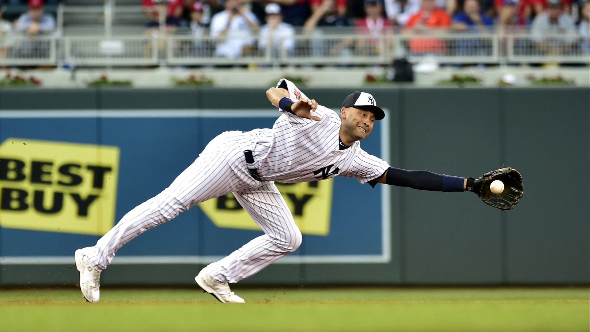 Res: 1920x1080,  Wallpaper derek jeter, baseball, mlb, new york yankees