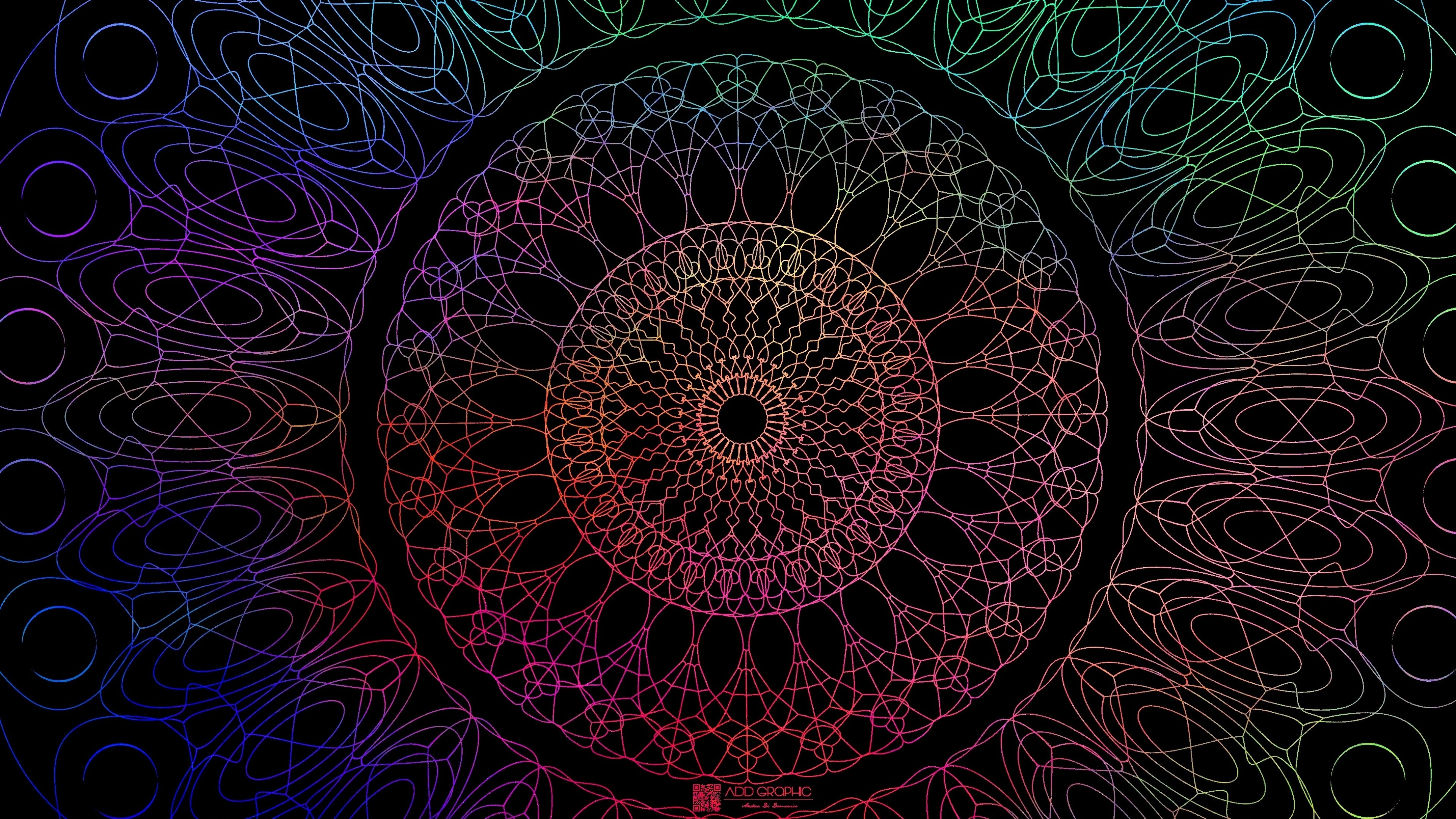 Res: 3840x2160, Mandala 1 Wallpaper