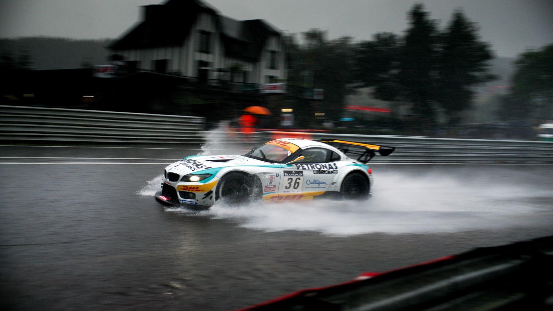 Res: 1920x1080, Rain at Spa