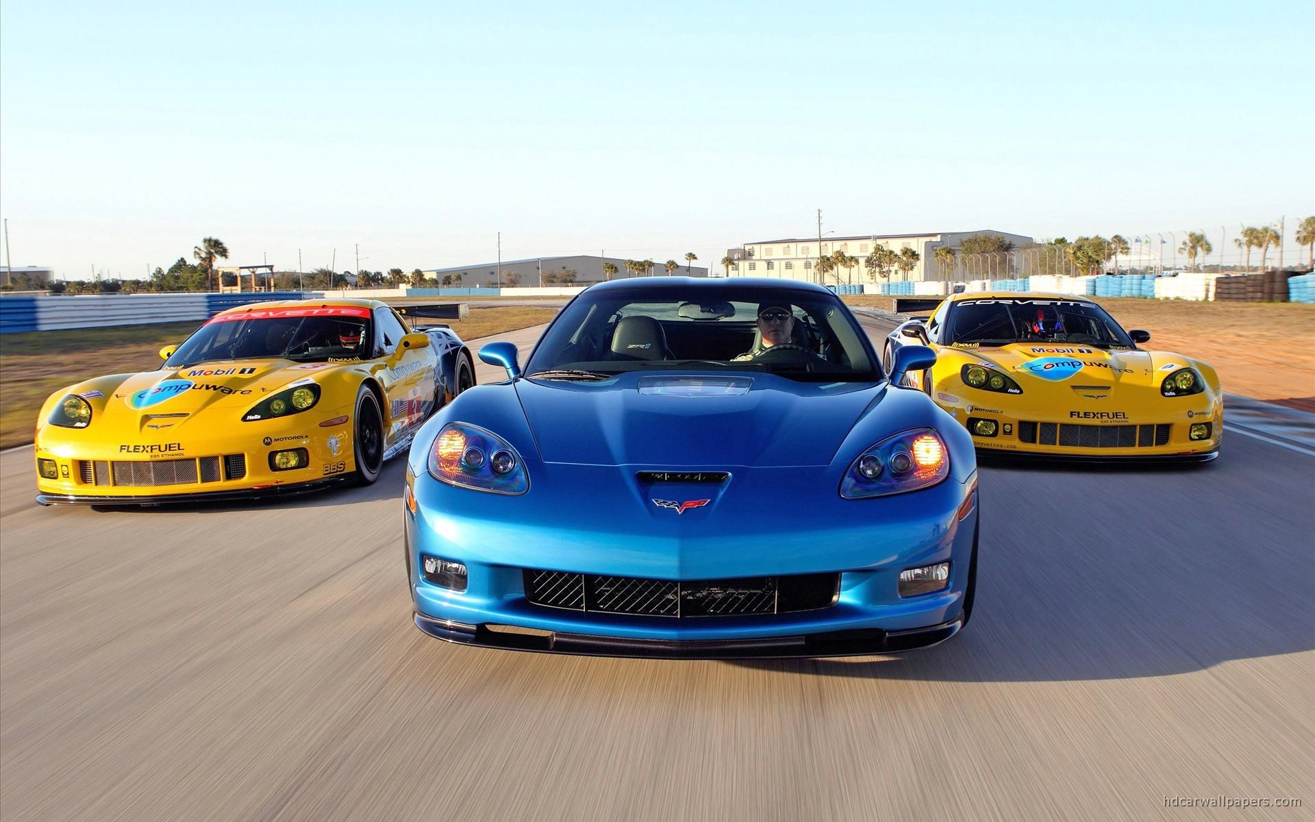 Res: 1920x1200, 2010 Corvette Racing Sebring Cars Wallpaper