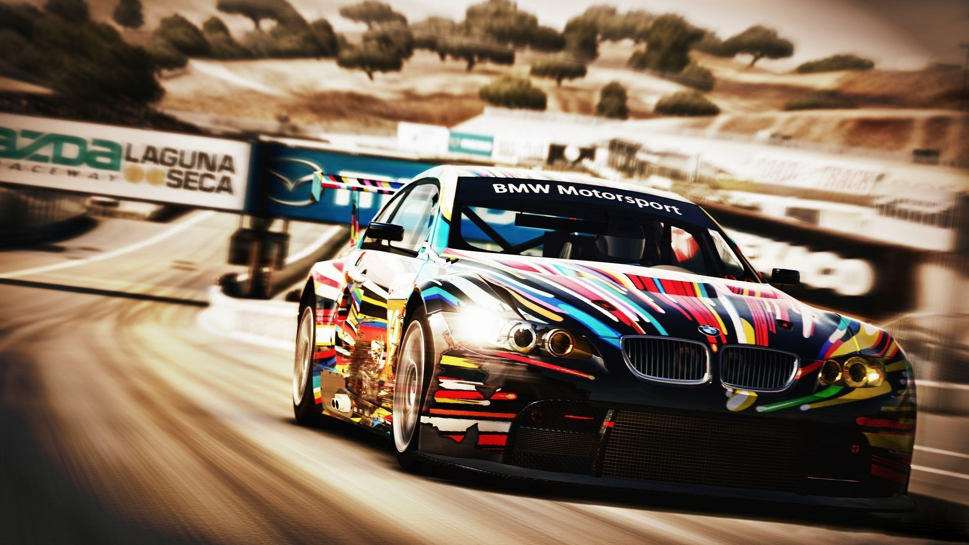Res: 1920x1080, Forza Motorsports vehicles cars bmw racing race car track wallpaper       28235   WallpaperUP