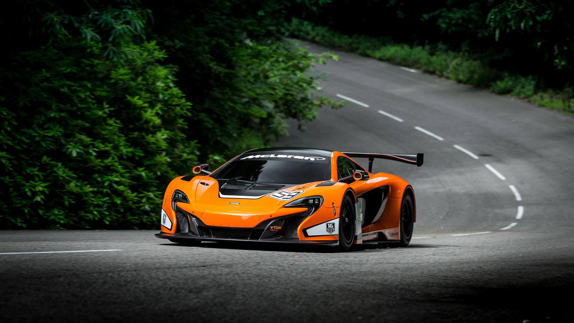 Res: 1920x1080, 2014 McLaren 650S GT3 Race Car Wallpaper - 1920 x 1080