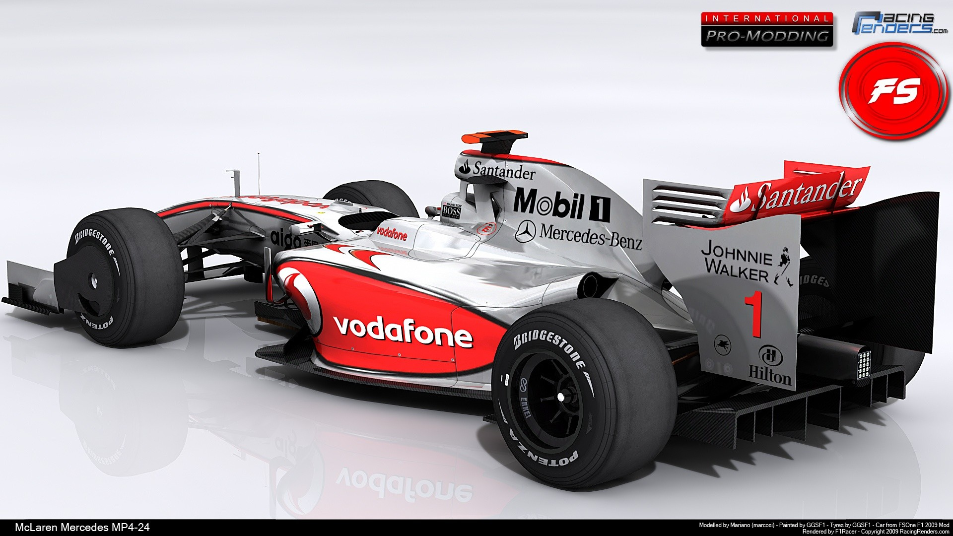 Res: 1920x1080, Mercedes Mclaren F1 Race Car