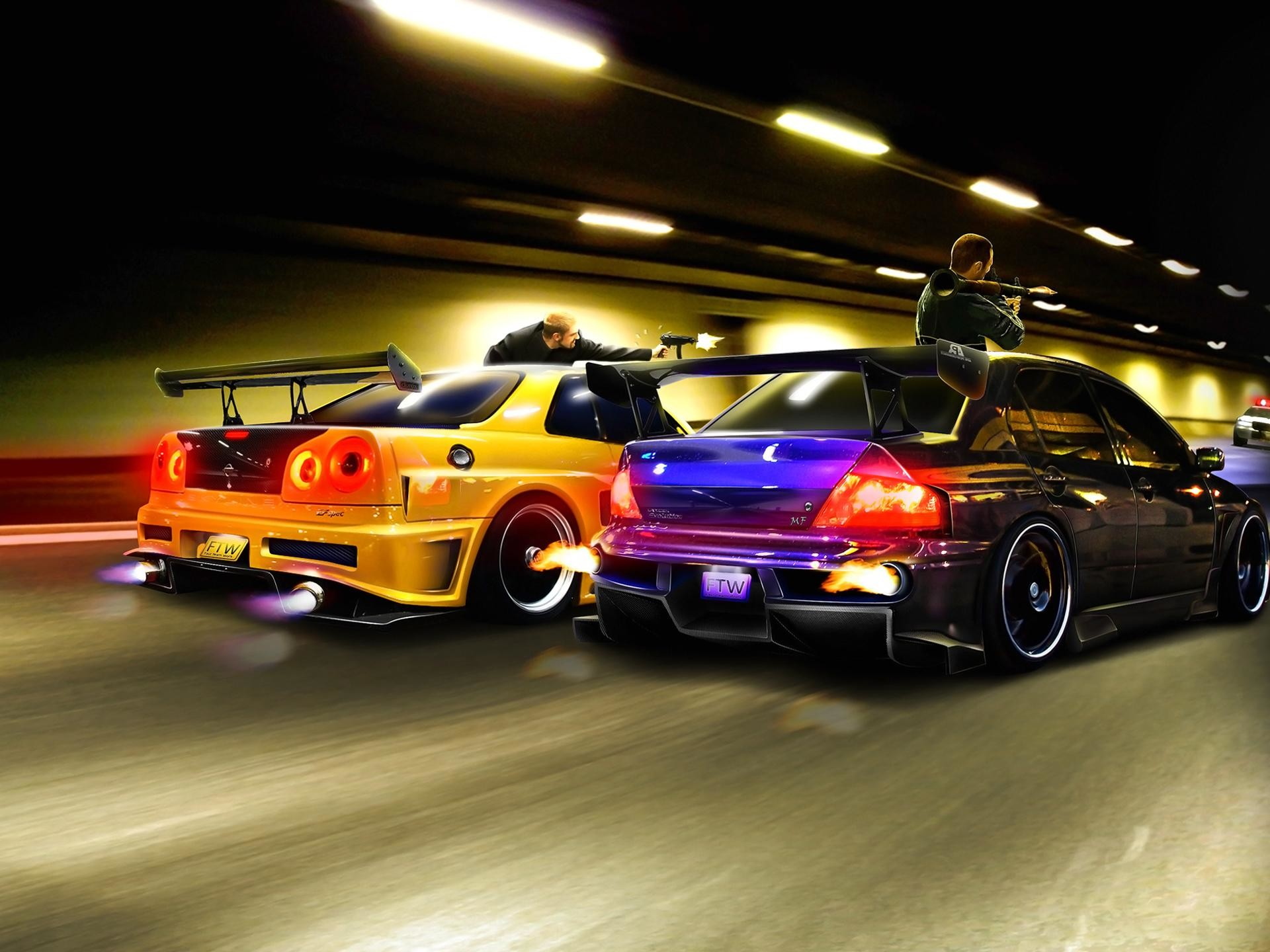 Res: 1920x1440, Street Racing Cars Wallpapers : Street Racing Cars Full HD Quality Photos