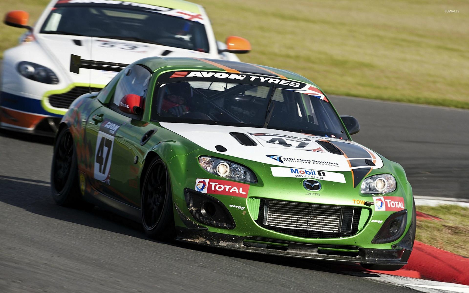 Res: 1920x1200, Mazda MX-5 racing car wallpaper