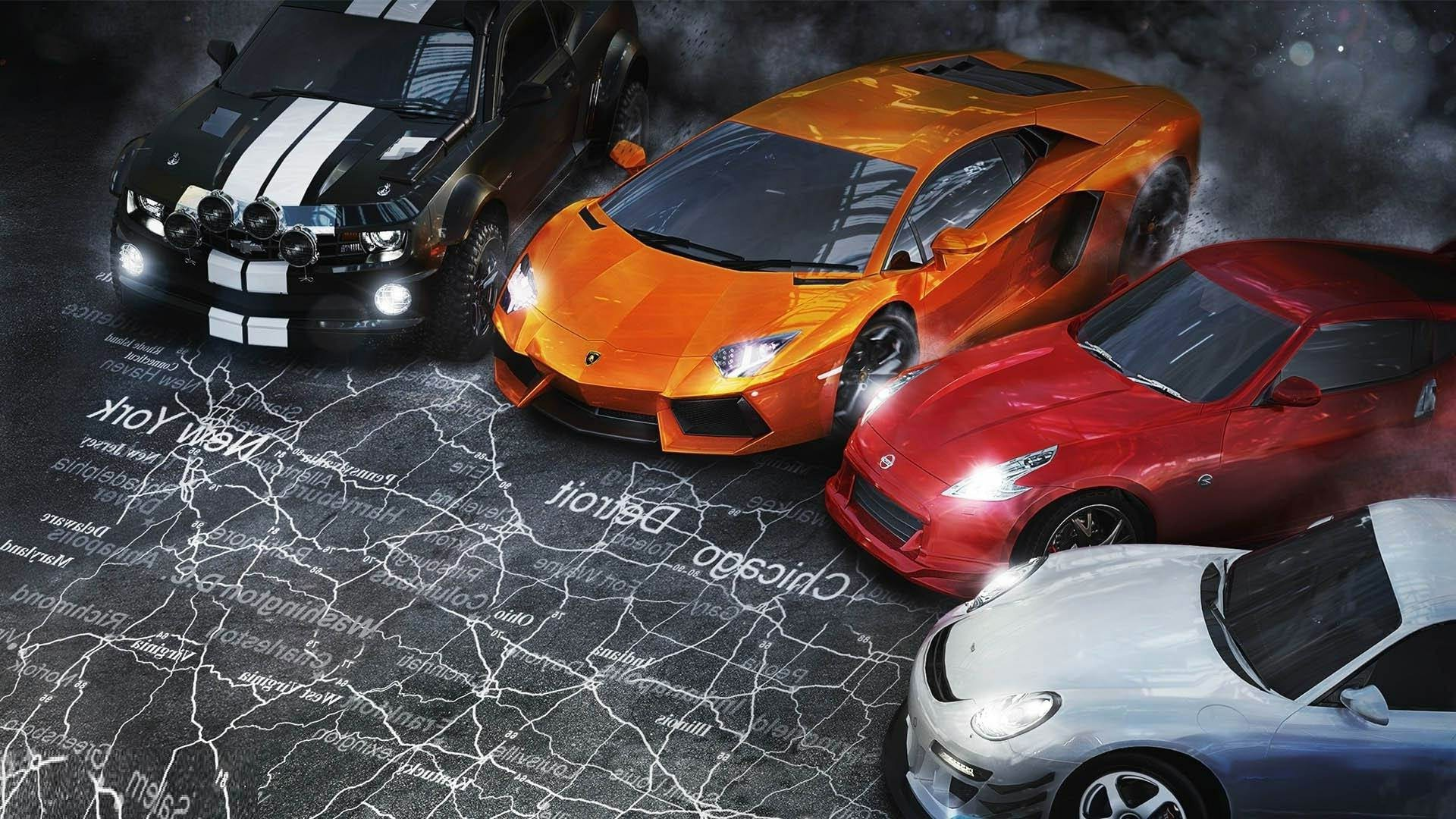 Res: 1920x1080, free 3d racing cars the crew wallpapers download