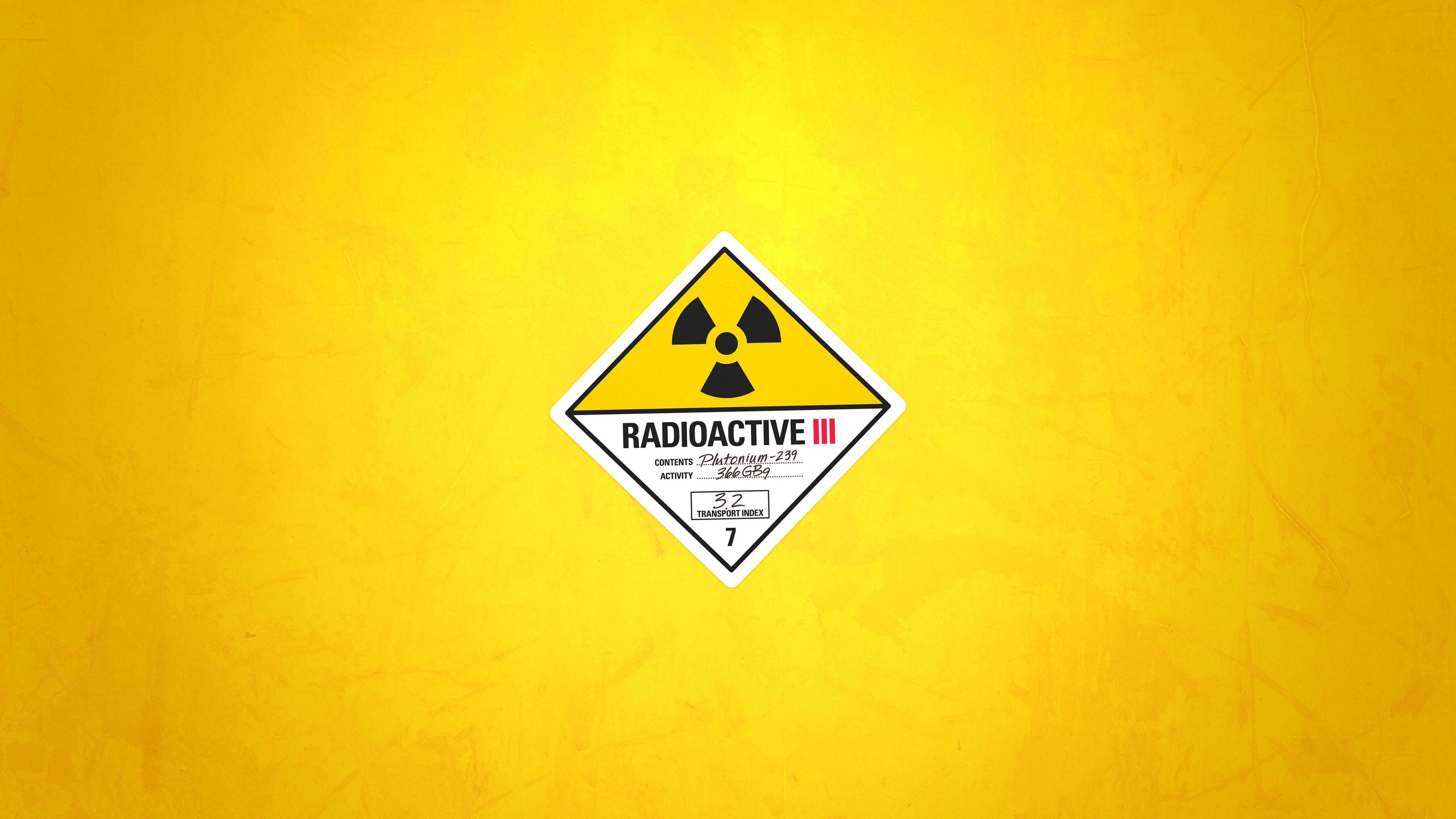 Res: 3840x2160, Radioactive Wallpapers 13 - 3840 X 2160