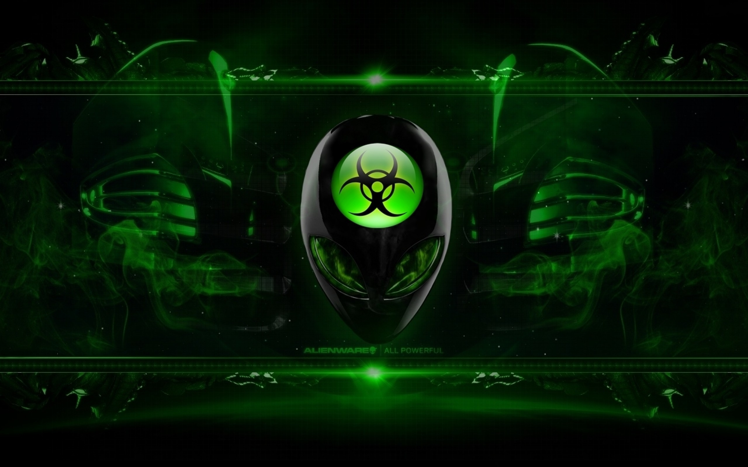 Res: 2560x1600, Green ...