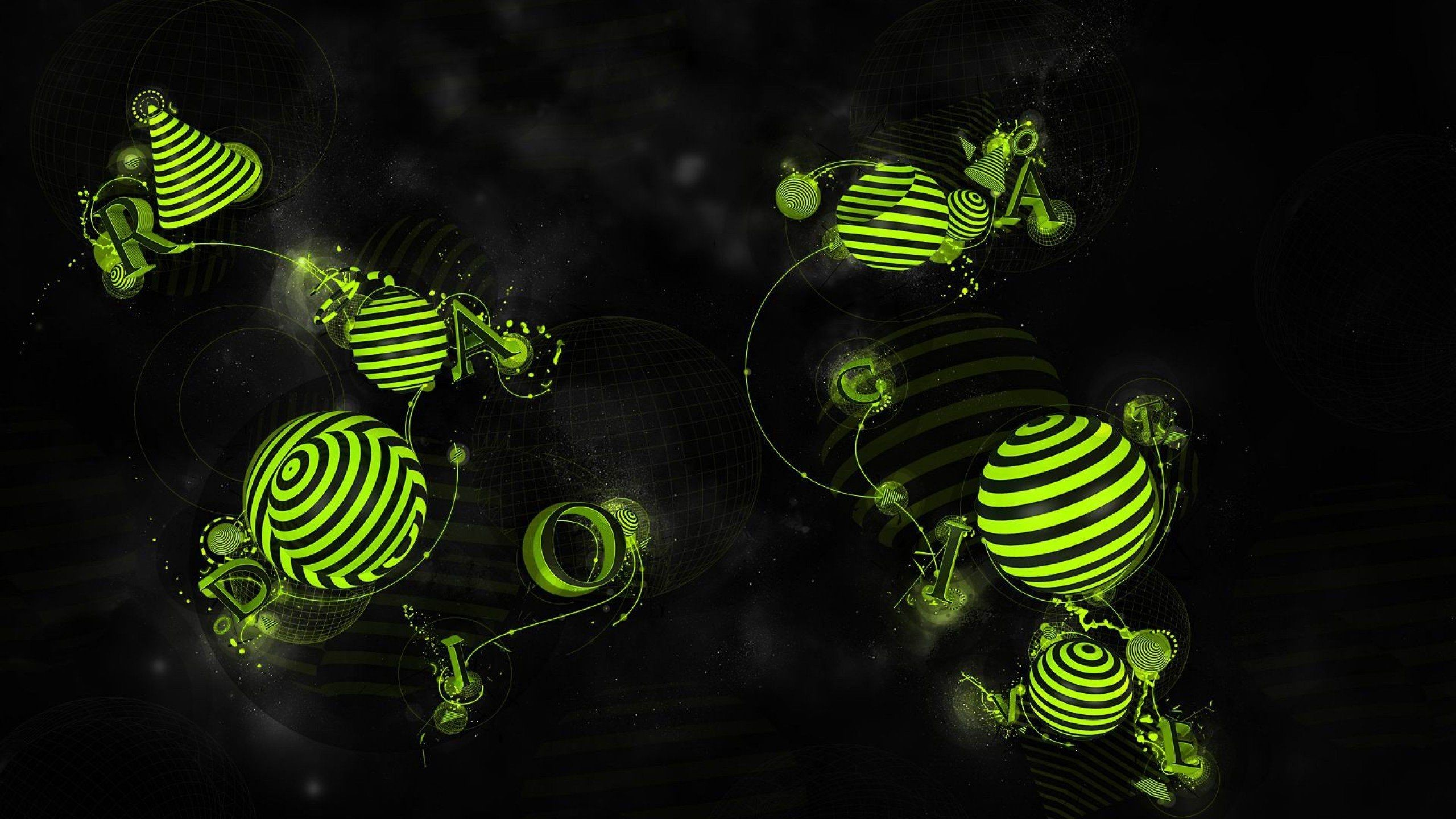 Res: 2560x1440, warning Signs Radioactive Wallpapers HD Desktop and Mobile | HD Wallpapers  | Pinterest | Wallpaper and Hd desktop